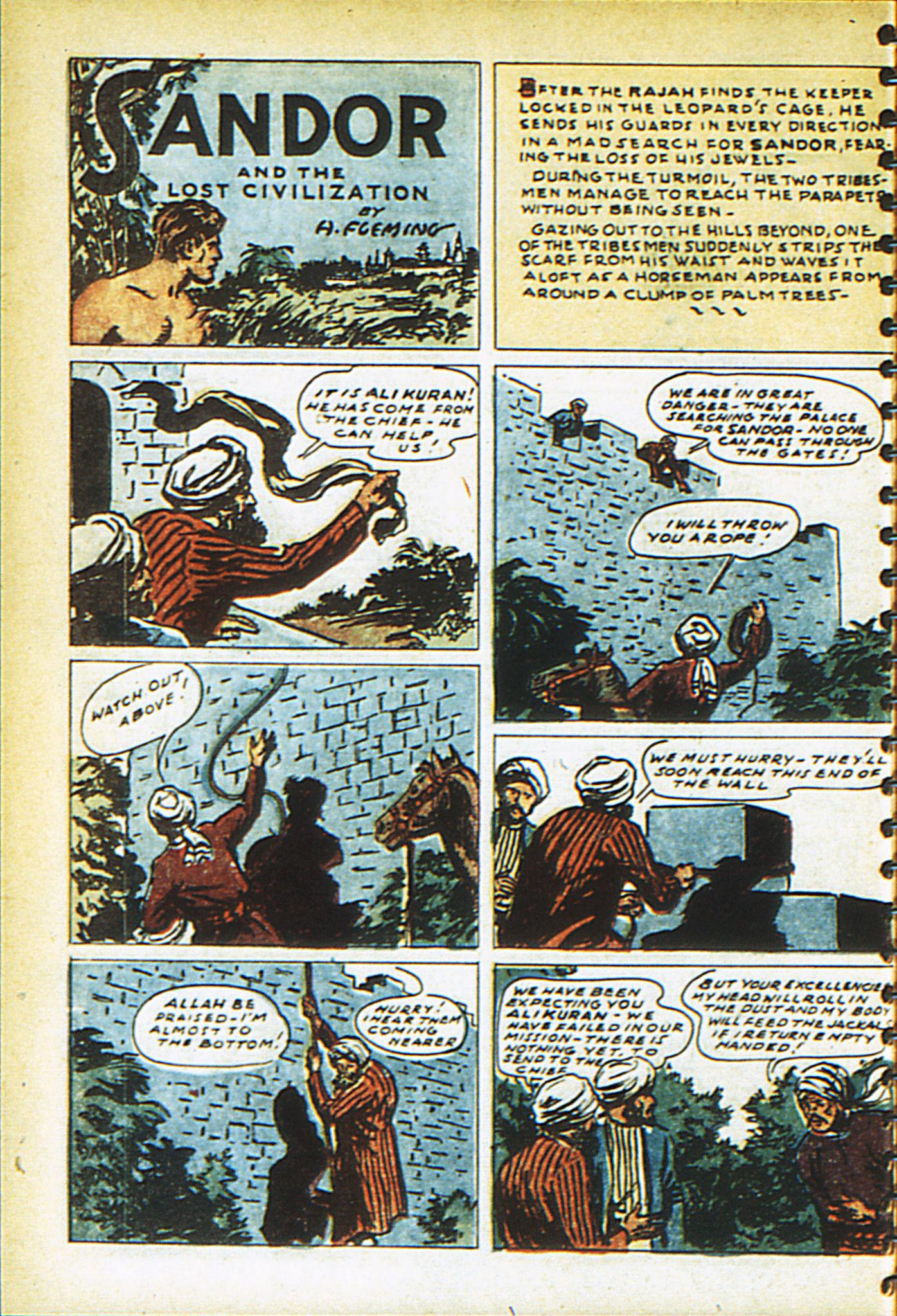 Read online Adventure Comics (1938) comic -  Issue #26 - 59