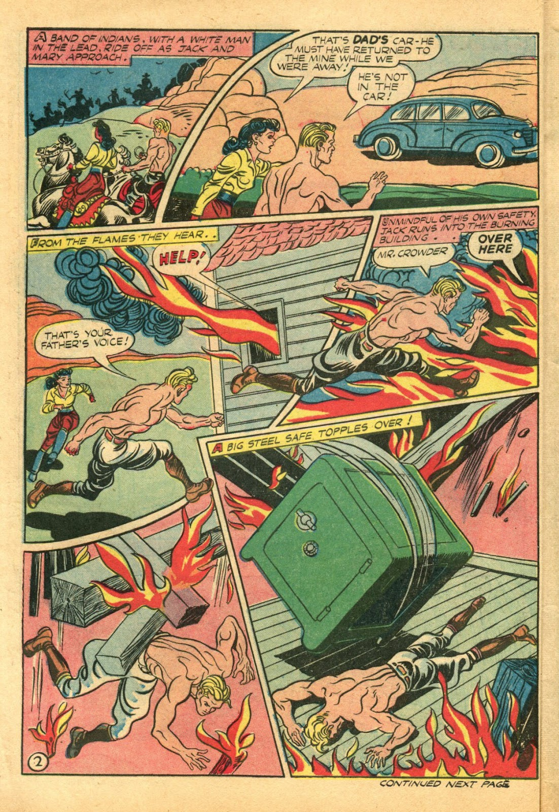 Read online Famous Funnies comic -  Issue #102 - 12