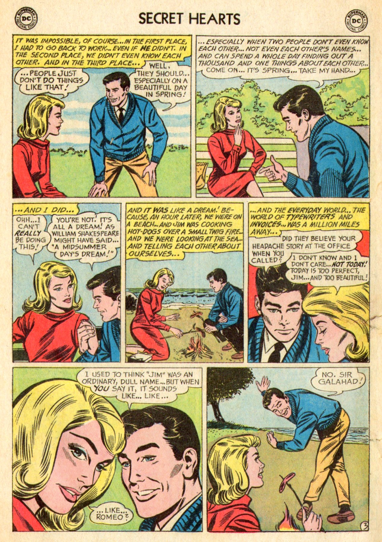 Read online Secret Hearts comic -  Issue #101 - 12