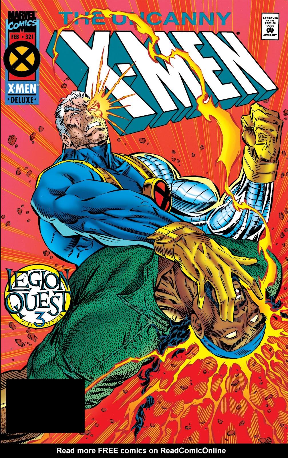 Uncanny X-Men (1963) issue 321 - Page 1