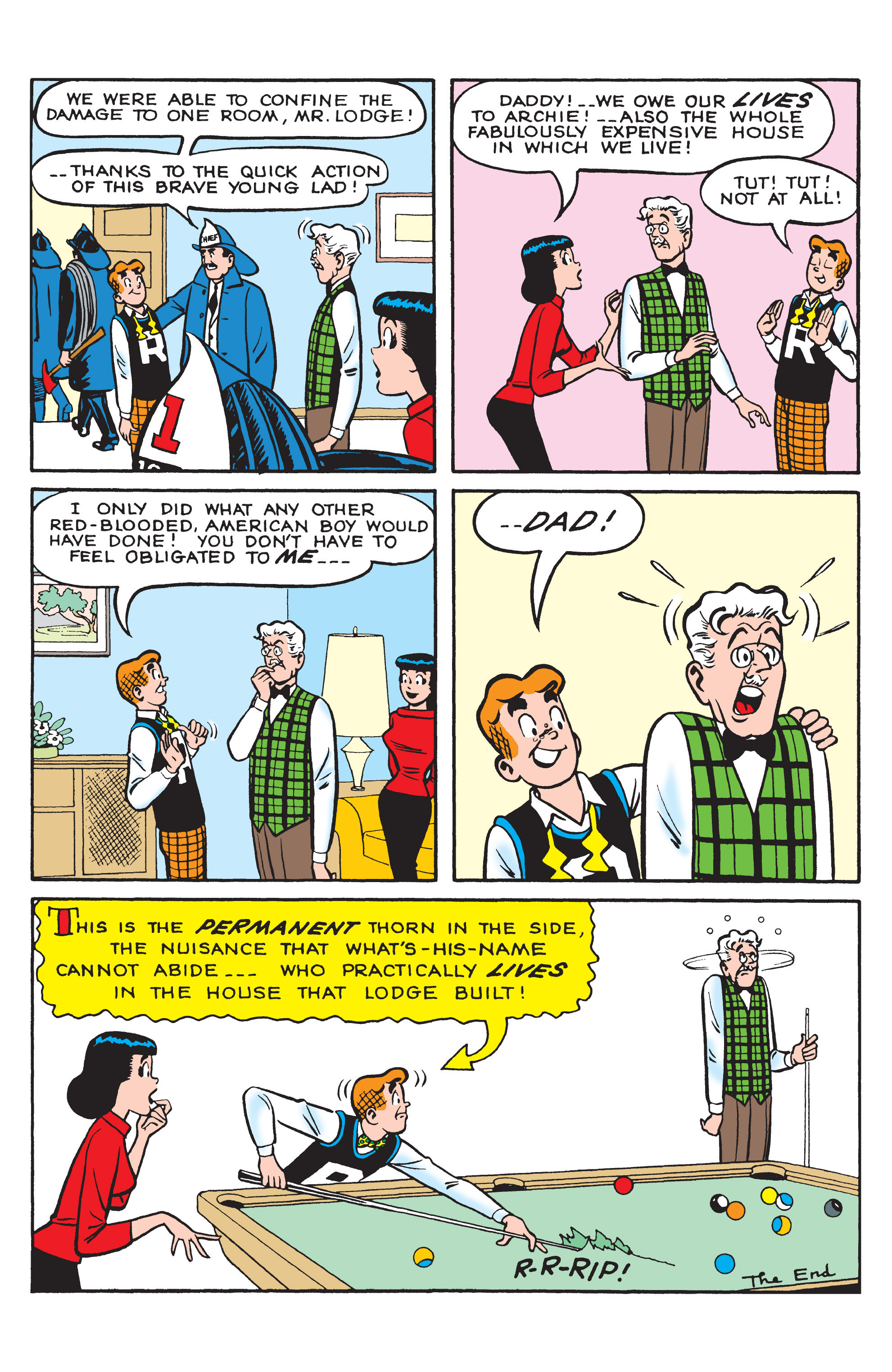Read online Archie (2015) comic -  Issue #9 - 30