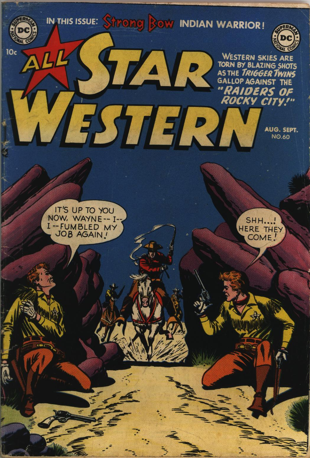 Read online All-Star Western (1951) comic -  Issue #60 - 1