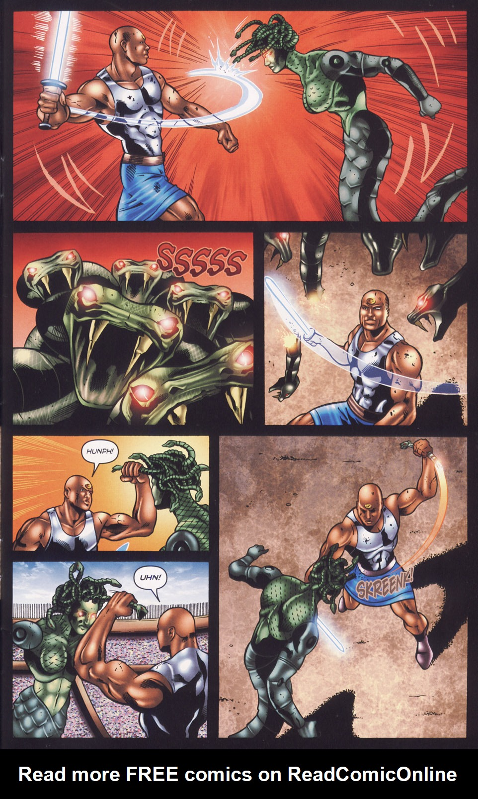 Read online Stargate SG-1: Fall of Rome comic -  Issue #3 - 7
