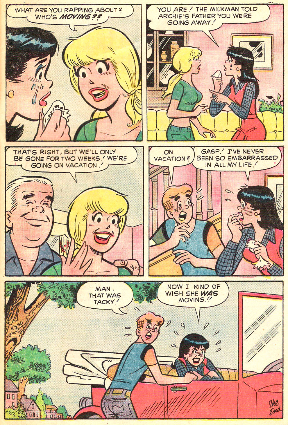 Read online Archie's Girls Betty and Veronica comic -  Issue #216 - 33