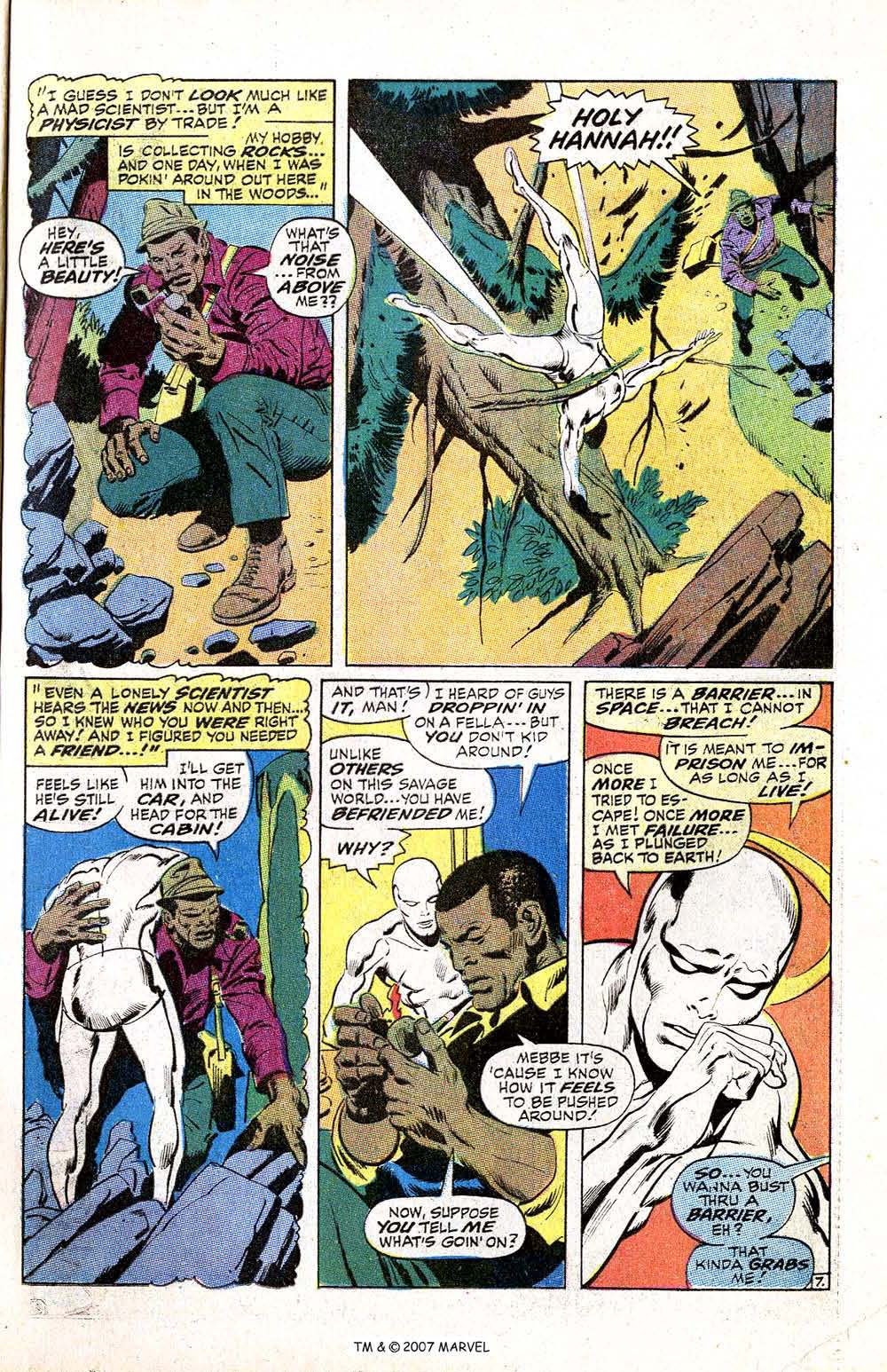 Read online Silver Surfer (1968) comic -  Issue #5 - 9