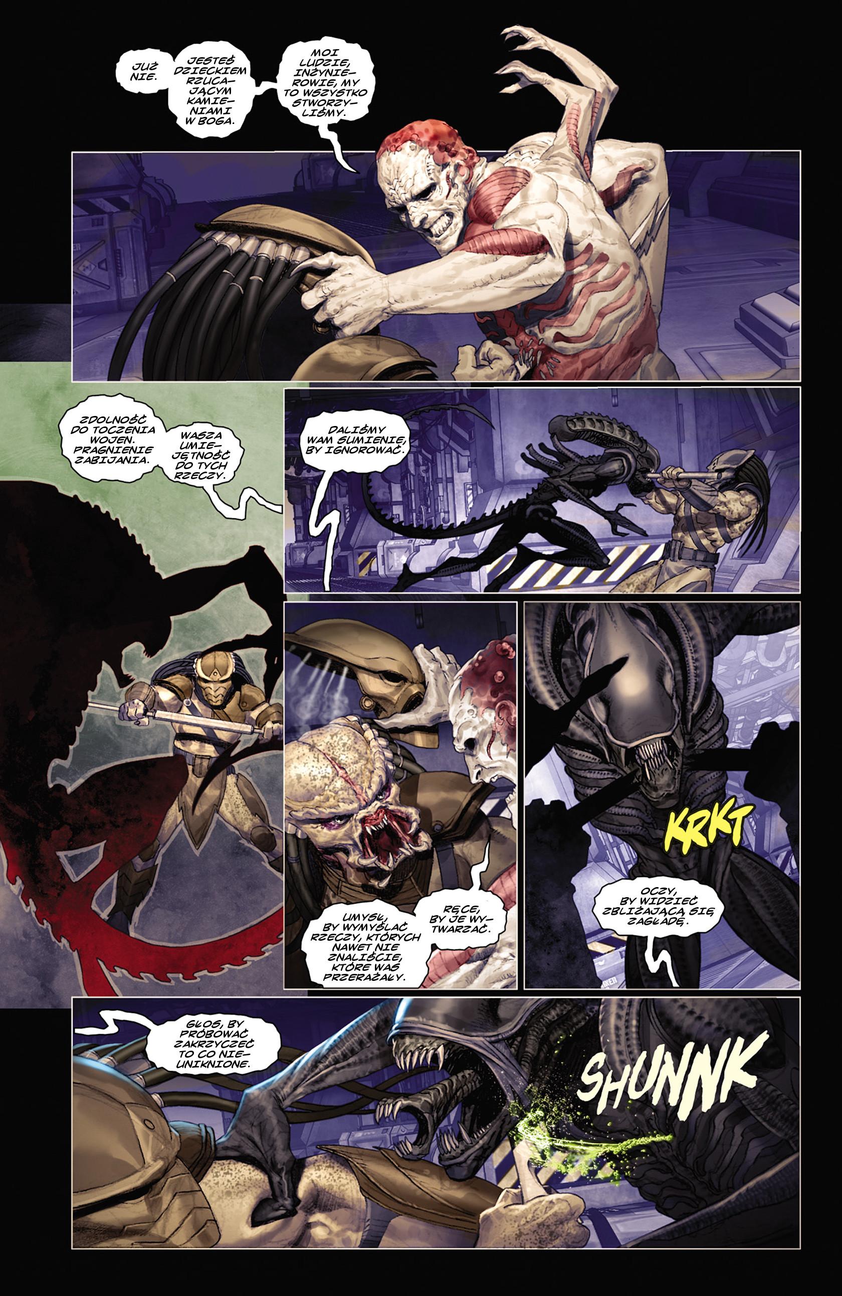 Read online Alien vs. Predator: Fire and Stone comic -  Issue #2 - 8
