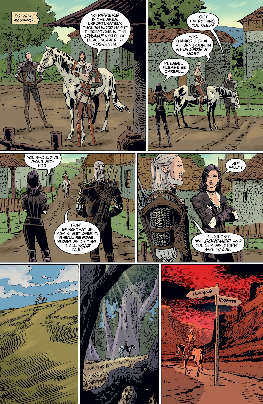 Read online The Witcher Omnibus comic -  Issue # TPB (Part 4) - 68