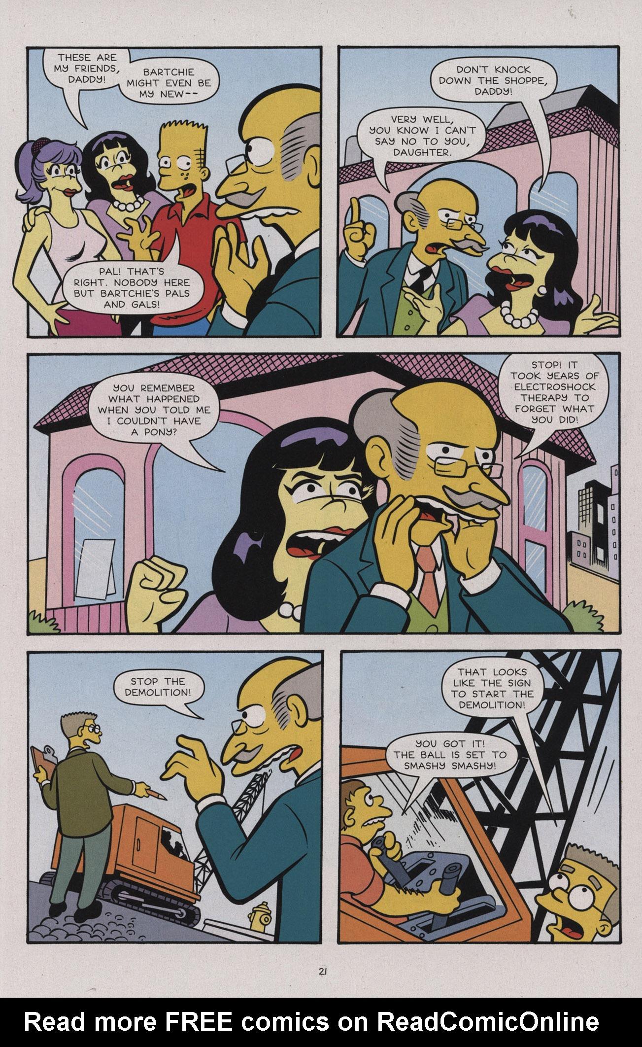 Read online Simpsons Comics comic -  Issue #183 - 23