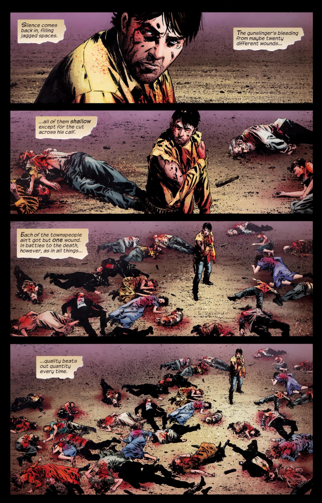 Read online Dark Tower: The Gunslinger - The Battle of Tull comic -  Issue #5 - 18