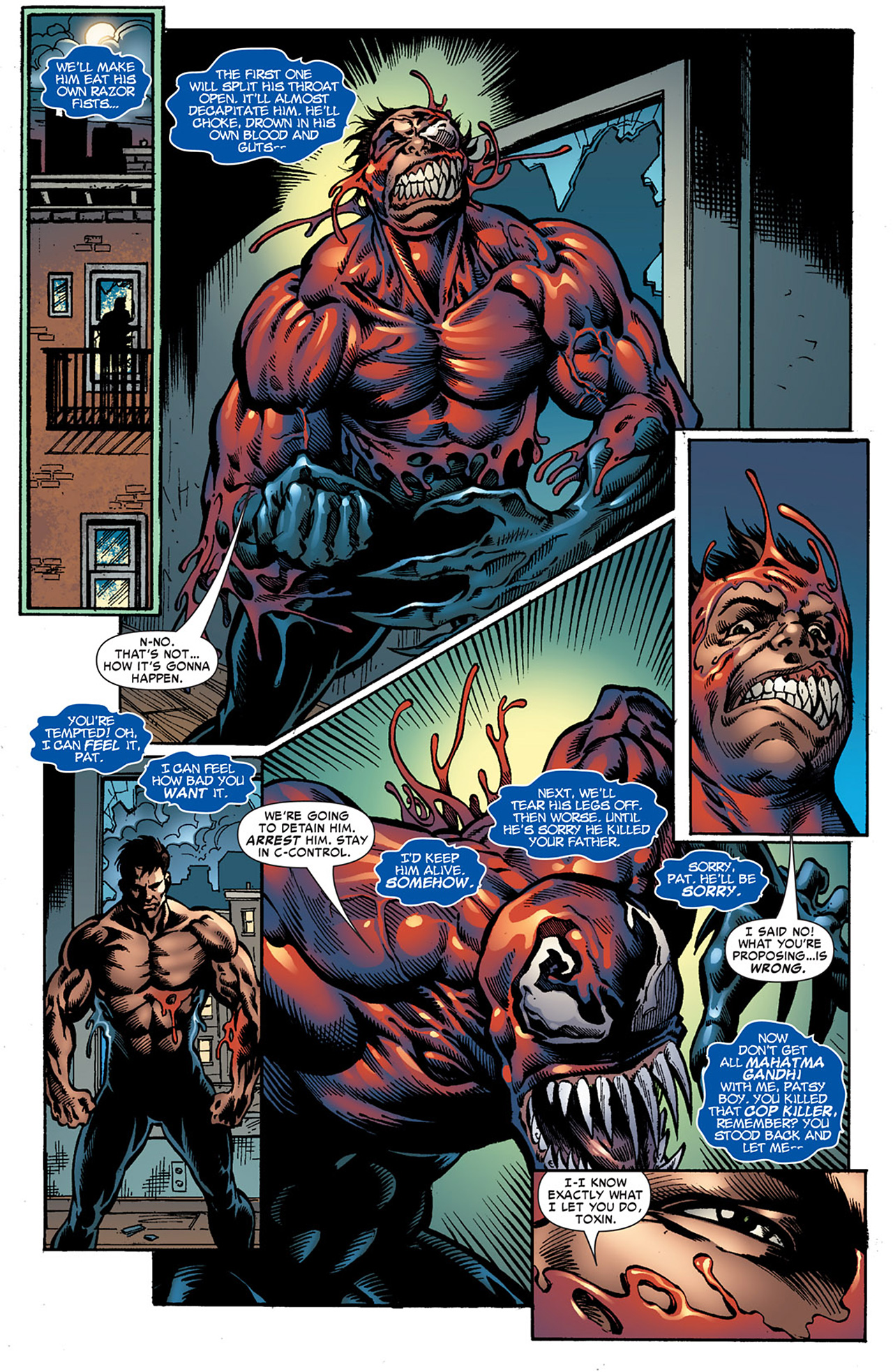 Read online Toxin comic -  Issue #6 - 12