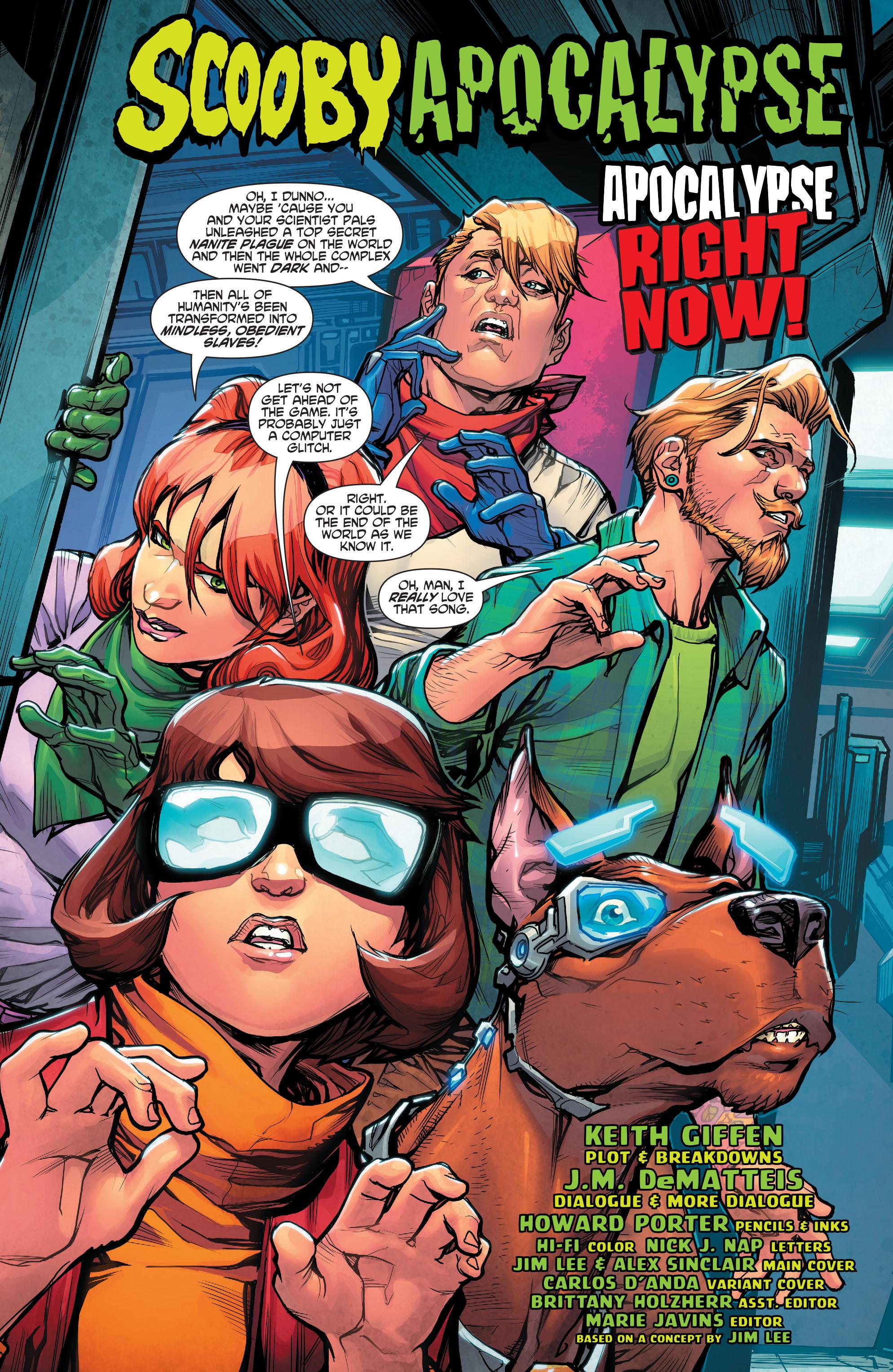 Read online Scooby Apocalypse comic -  Issue #2 - 5