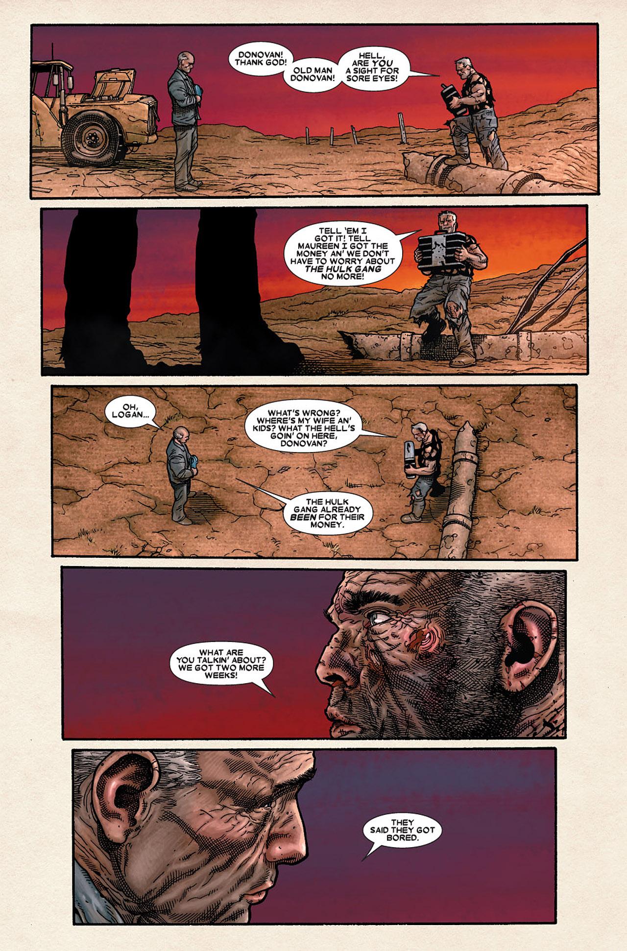 Read online Wolverine: Old Man Logan comic -  Issue # Full - 160