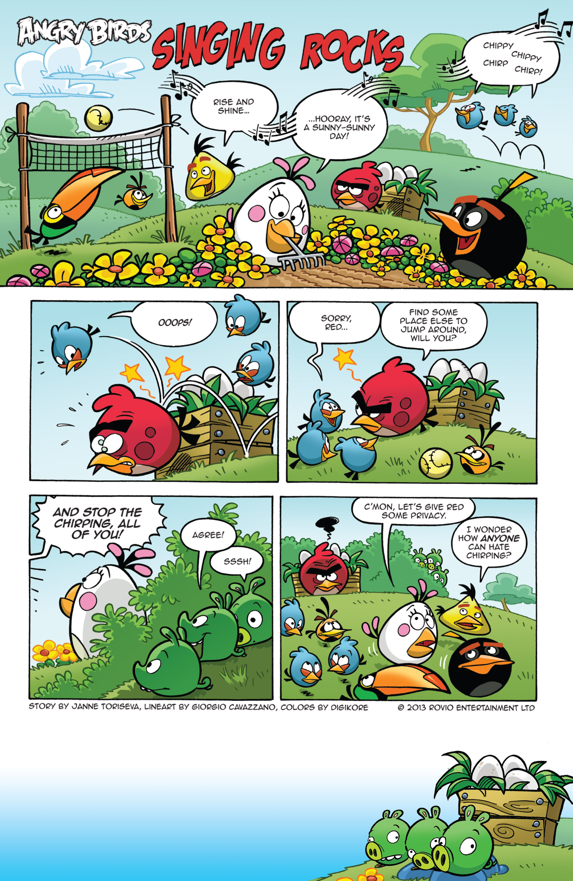 Read online Angry Birds Comics (2014) comic -  Issue #7 - 3