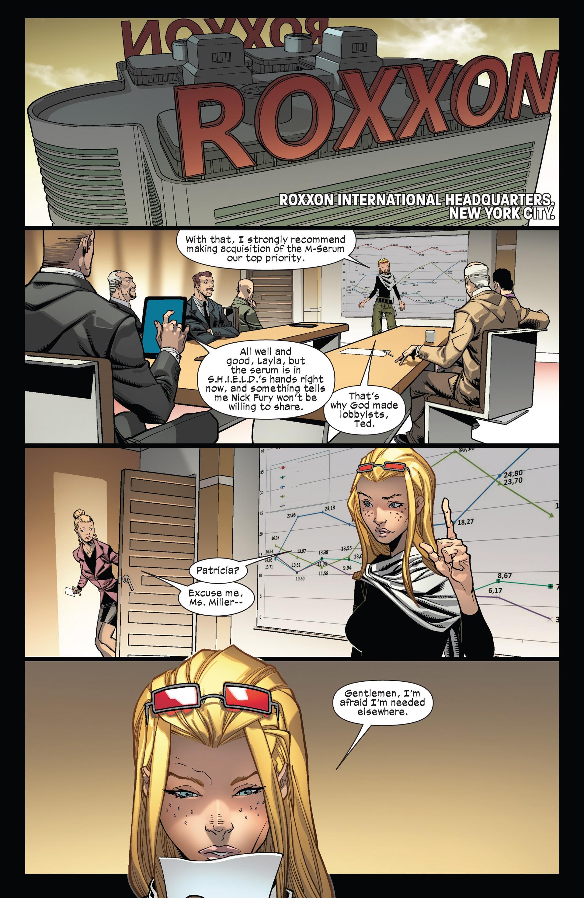 Read online Ultimate Comics X-Men comic -  Issue #12 - 13