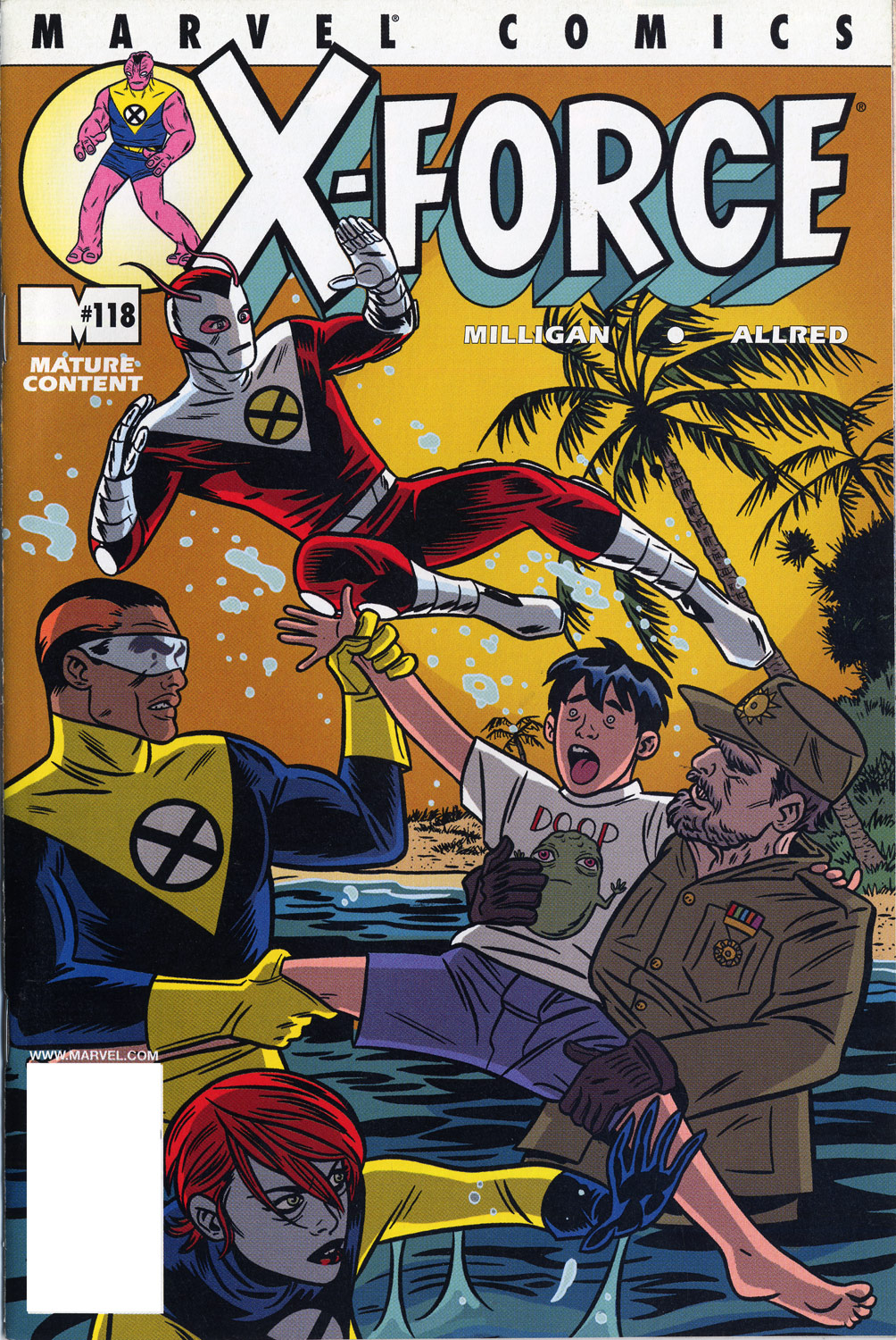 Read online X-Force (1991) comic -  Issue #118 - 1