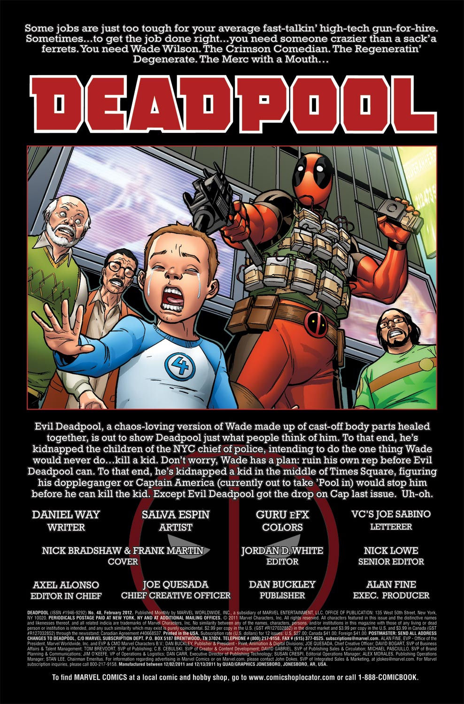 Read online Deadpool (2008) comic -  Issue #48 - 2