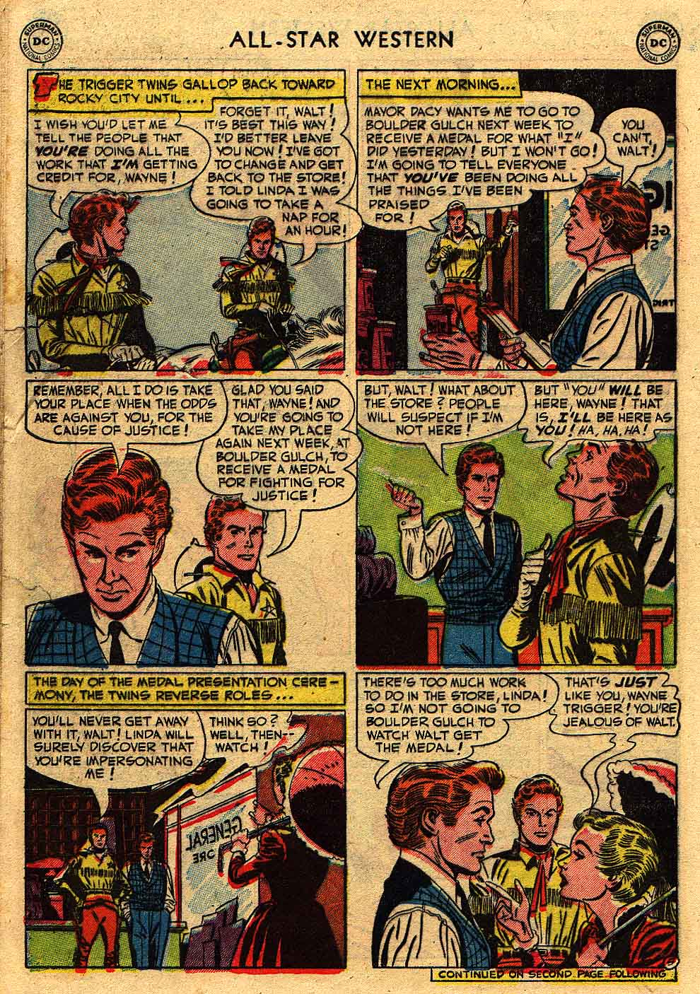 Read online All-Star Western (1951) comic -  Issue #62 - 28