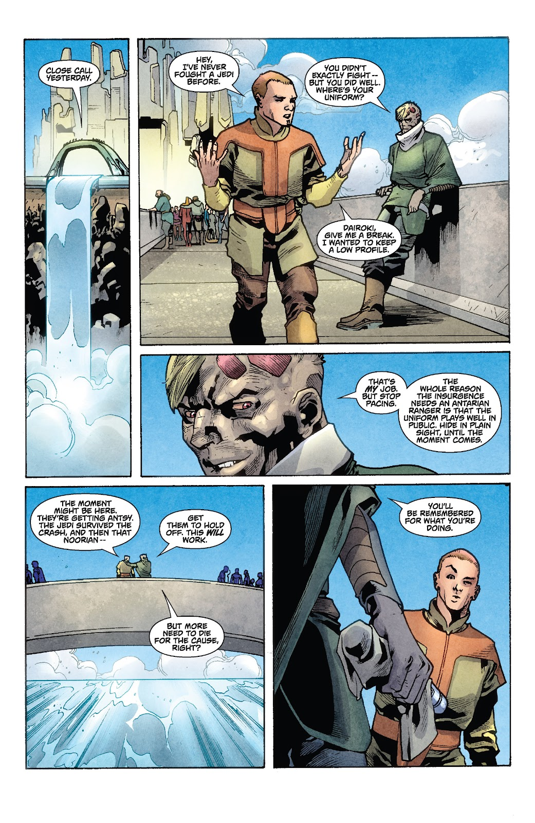 Read online Star Wars Legends: Rise of the Sith - Epic Collection comic -  Issue # TPB 1 (Part 2) - 37
