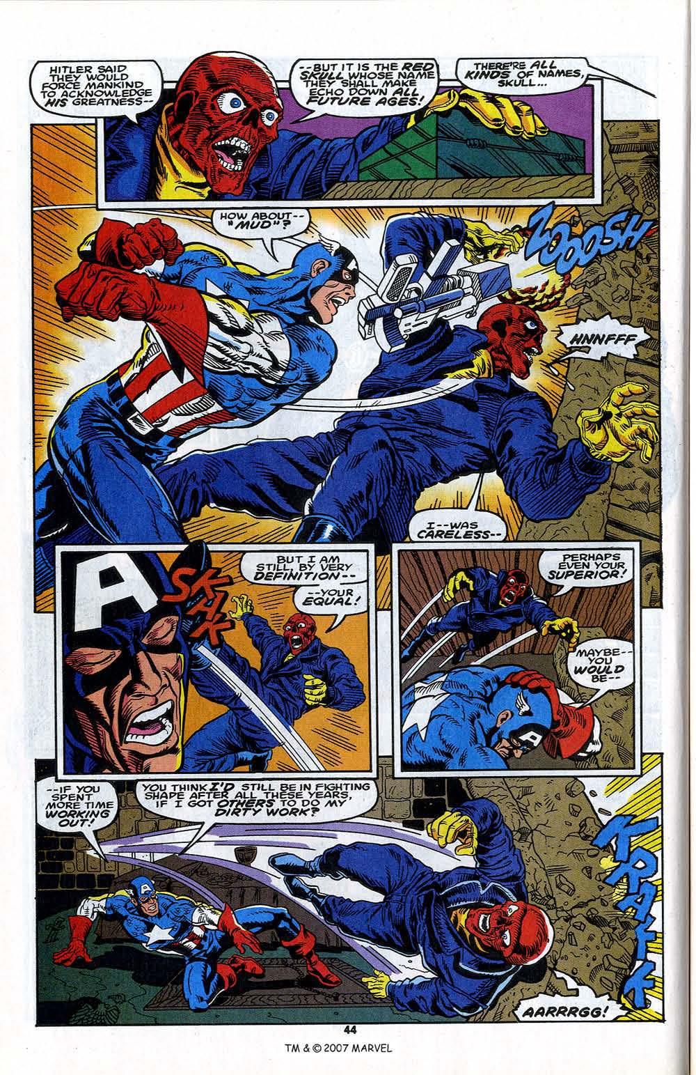 Read online Captain America (1968) comic -  Issue # _Annual 13 - 46