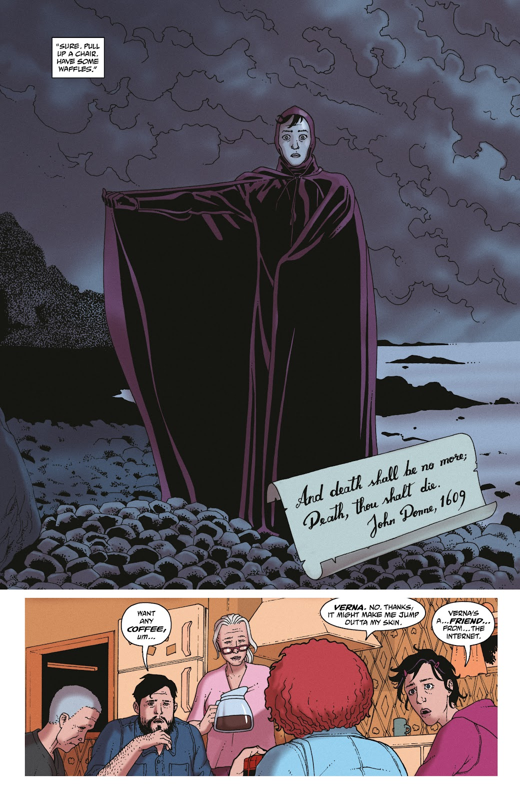 Read online She Could Fly comic -  Issue # _TPB - 110