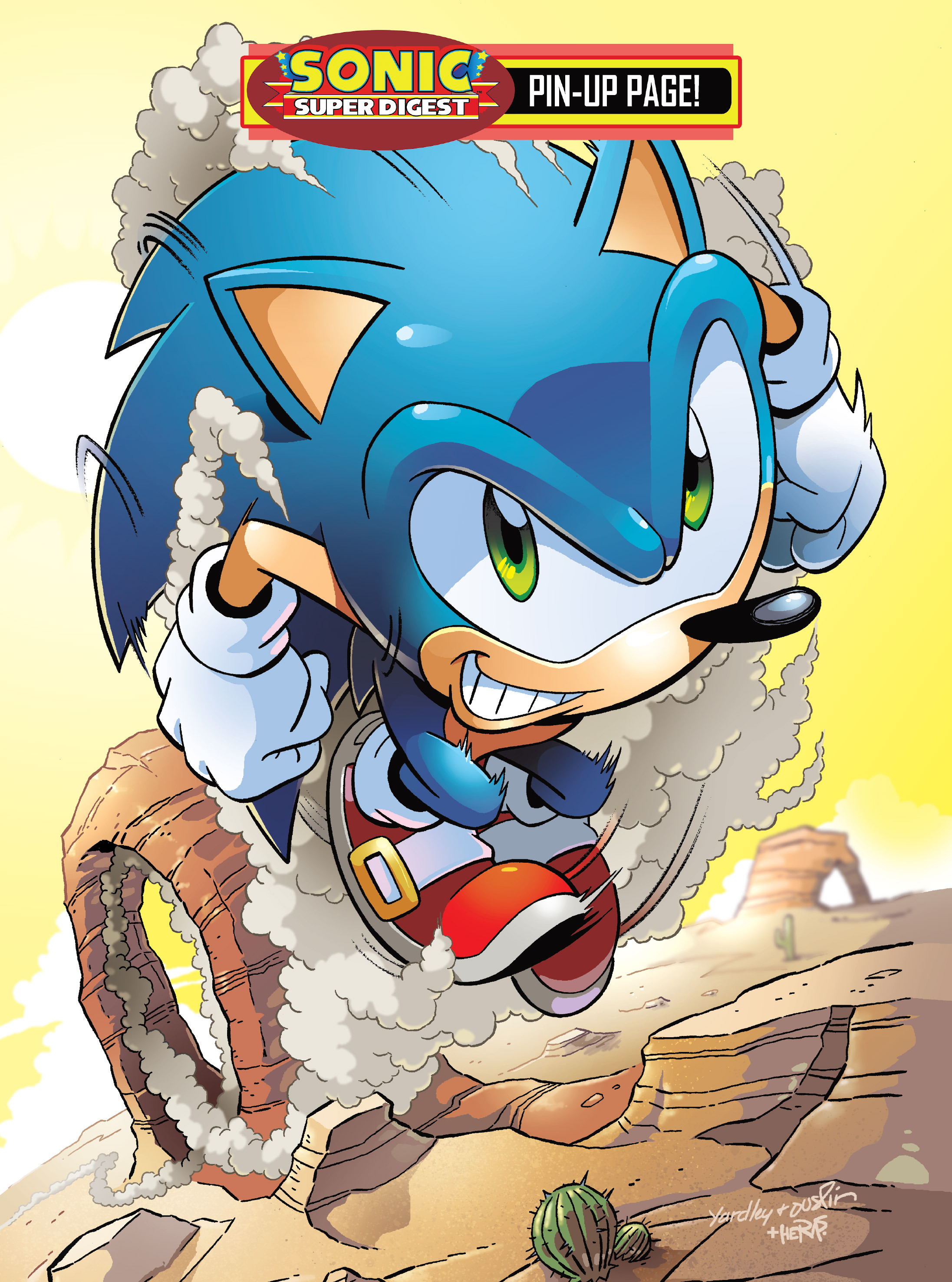 Read online Sonic Super Digest comic -  Issue #10 - 96