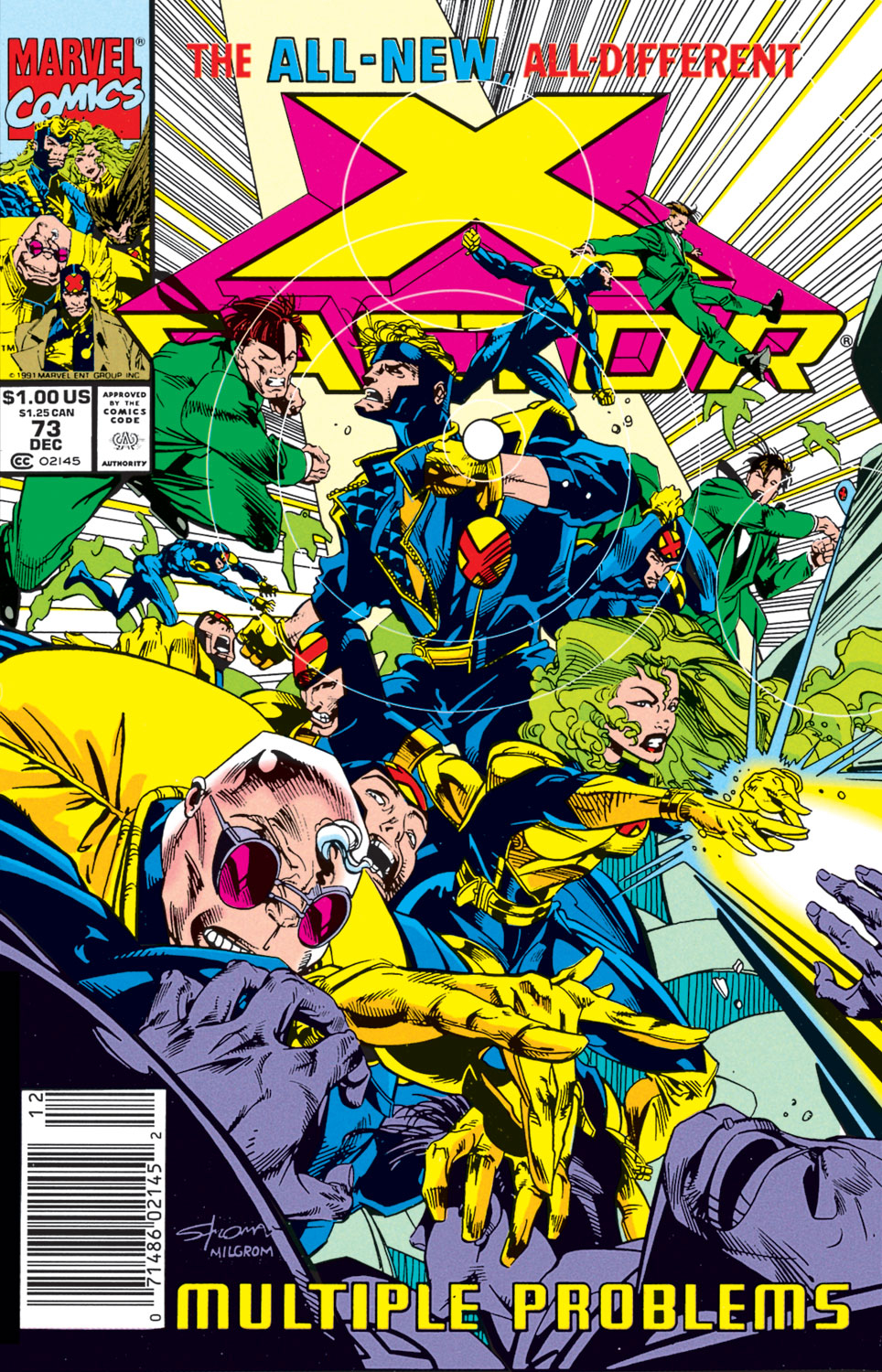 Read online X-Factor (1986) comic -  Issue #73 - 1