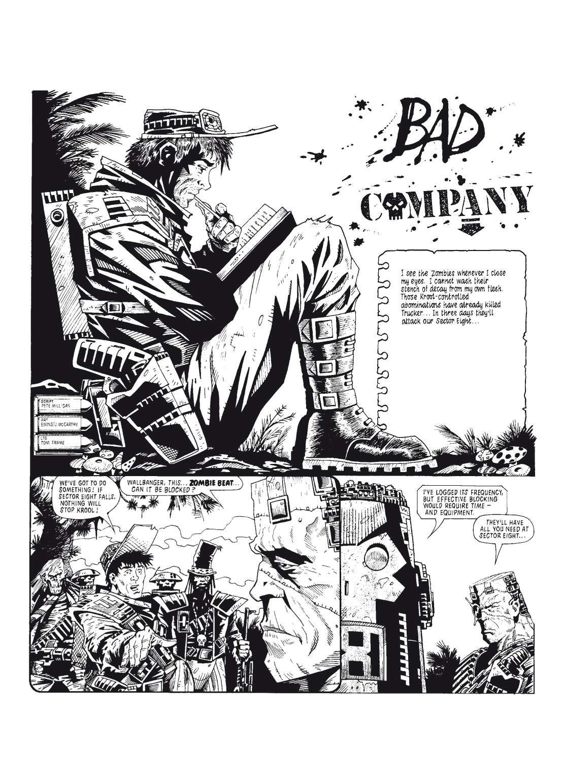 Read online The Complete Bad Company comic -  Issue # TPB - 56