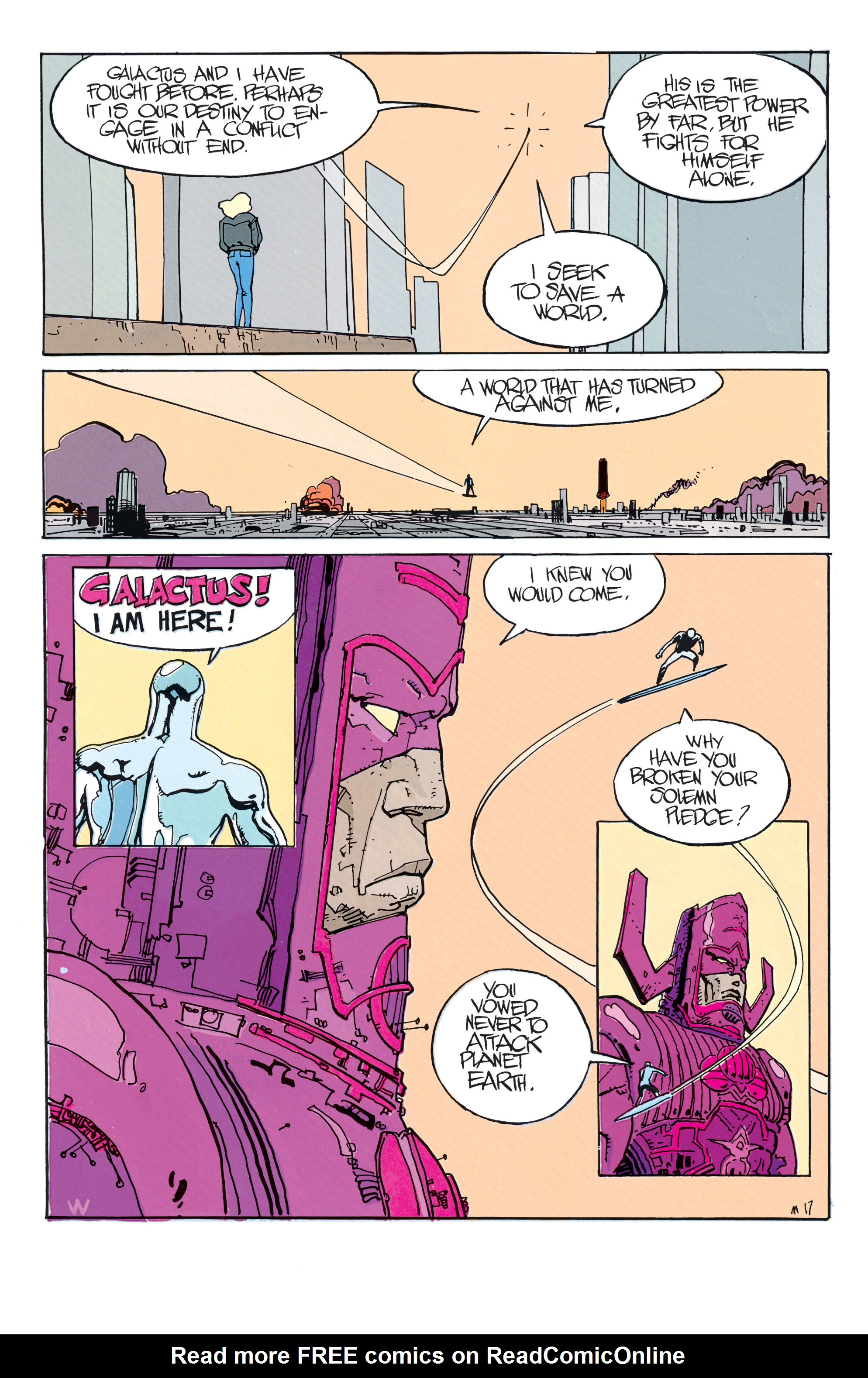 Read online Silver Surfer: Parable comic -  Issue # TPB - 23
