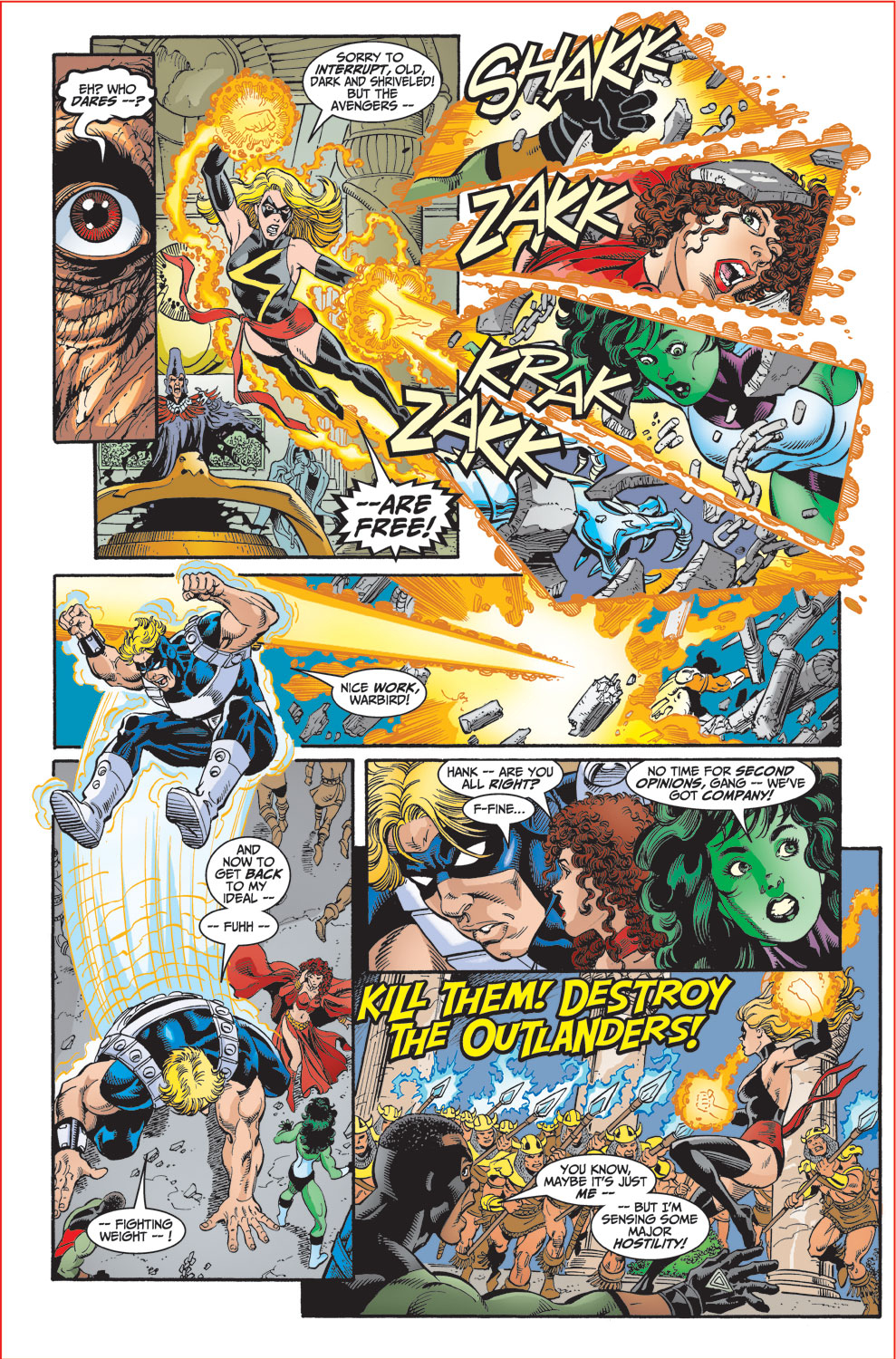Read online Avengers (1998) comic -  Issue #30 - 10