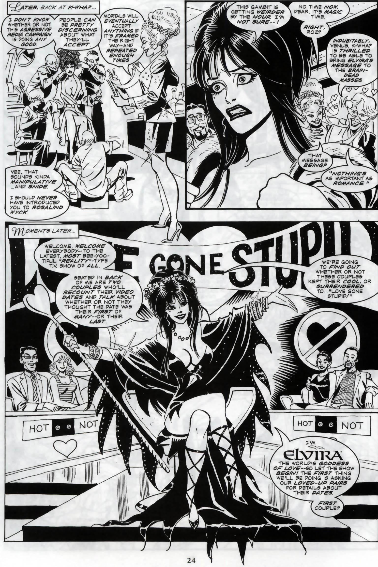 Read online Elvira, Mistress of the Dark comic -  Issue #119 - 21