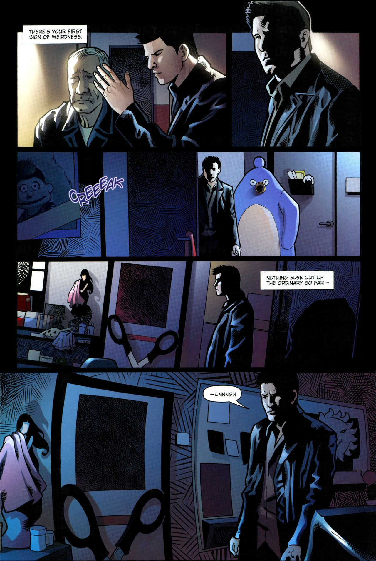 Read online Angel: Smile Time comic -  Issue #1 - 19