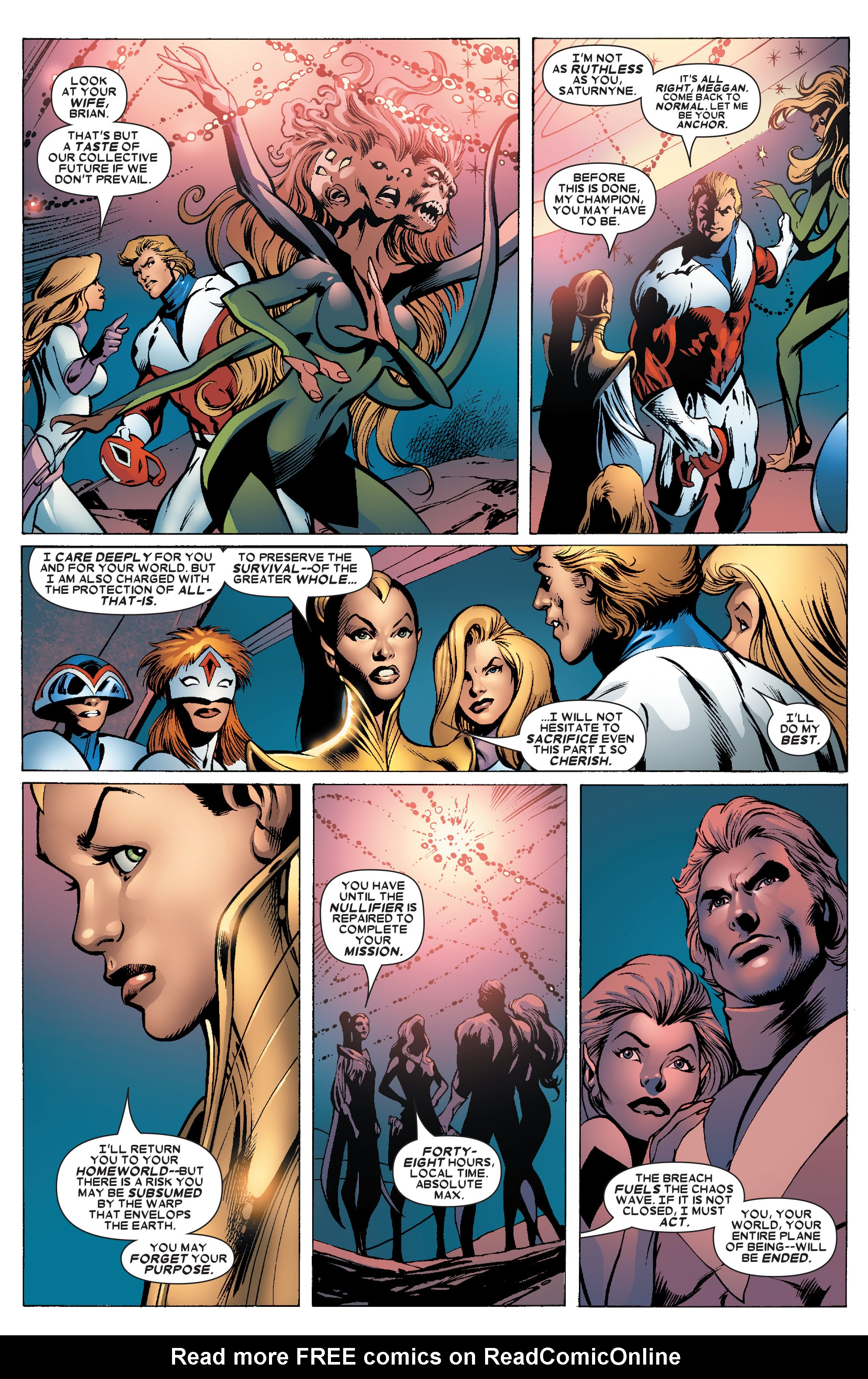 Read online Uncanny X-Men (1963) comic -  Issue #462 - 18