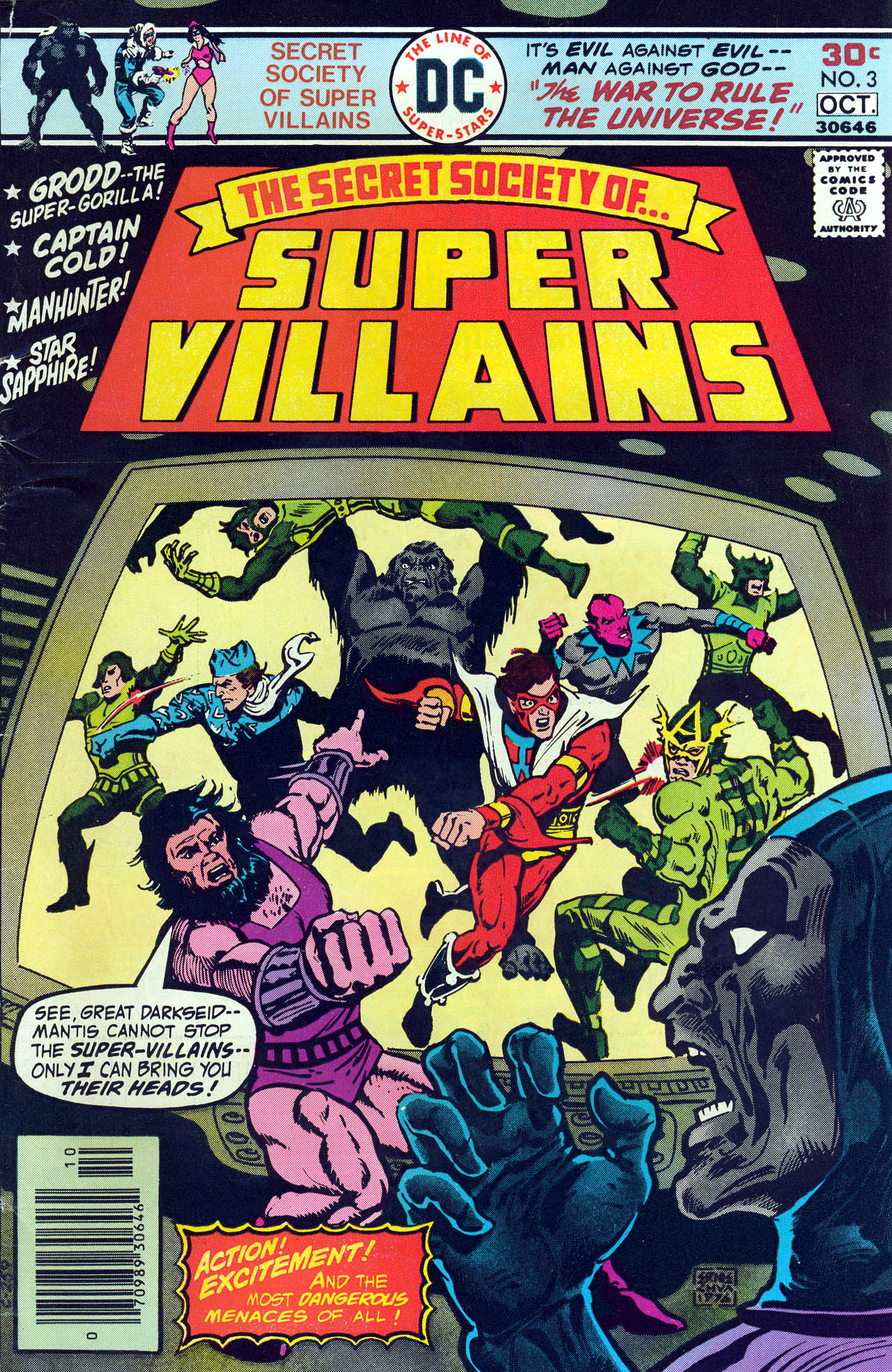 Read online Secret Society of Super-Villains comic -  Issue #3 - 1