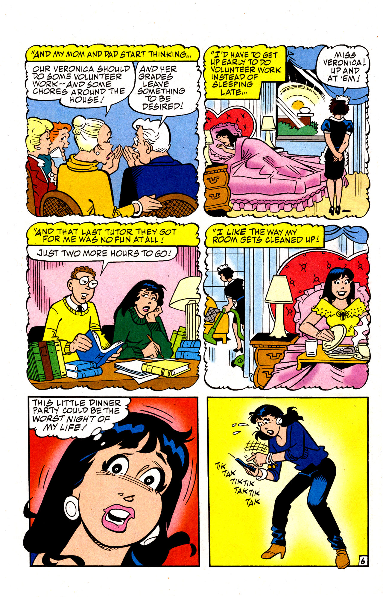 Read online Archie (1960) comic -  Issue #574 - 8