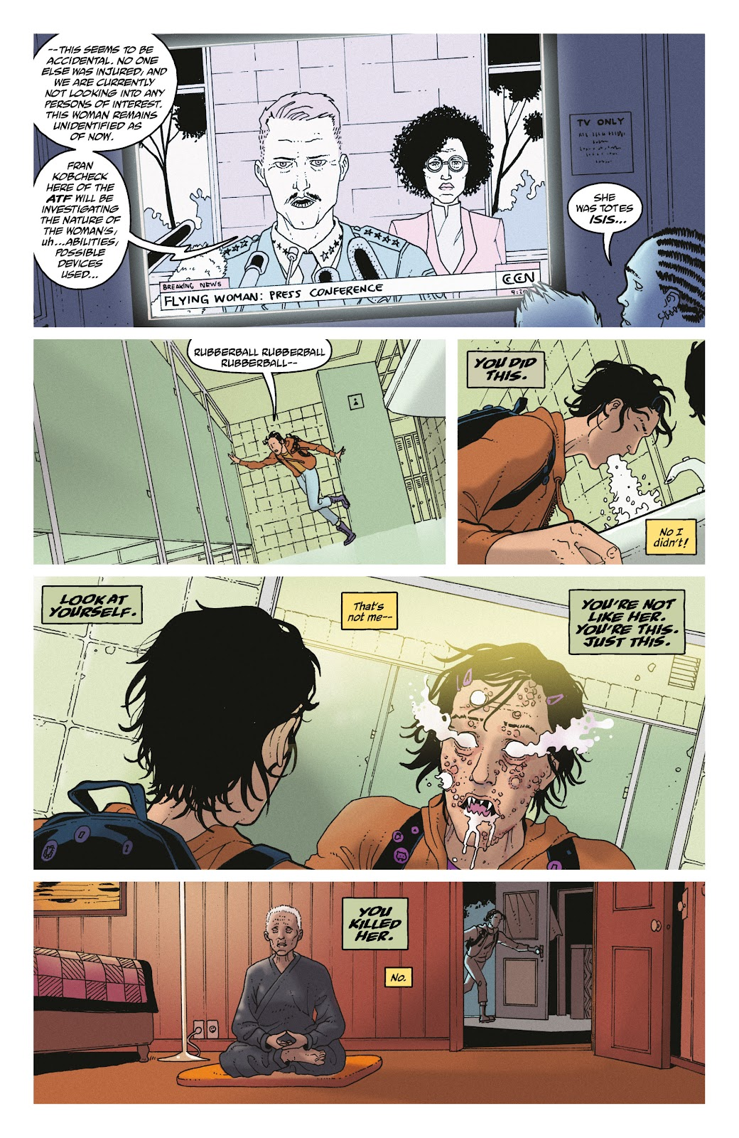 Read online She Could Fly comic -  Issue # _TPB - 31