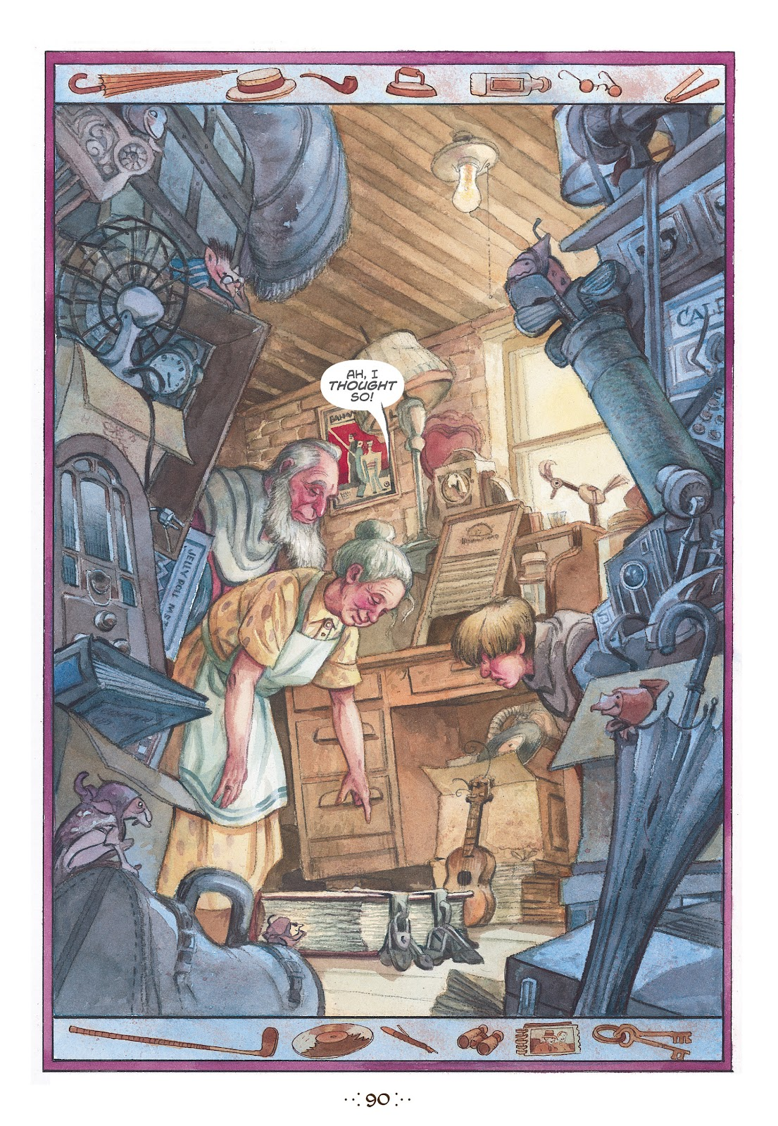 Read online The Wizard's Tale comic -  Issue # TPB - 86