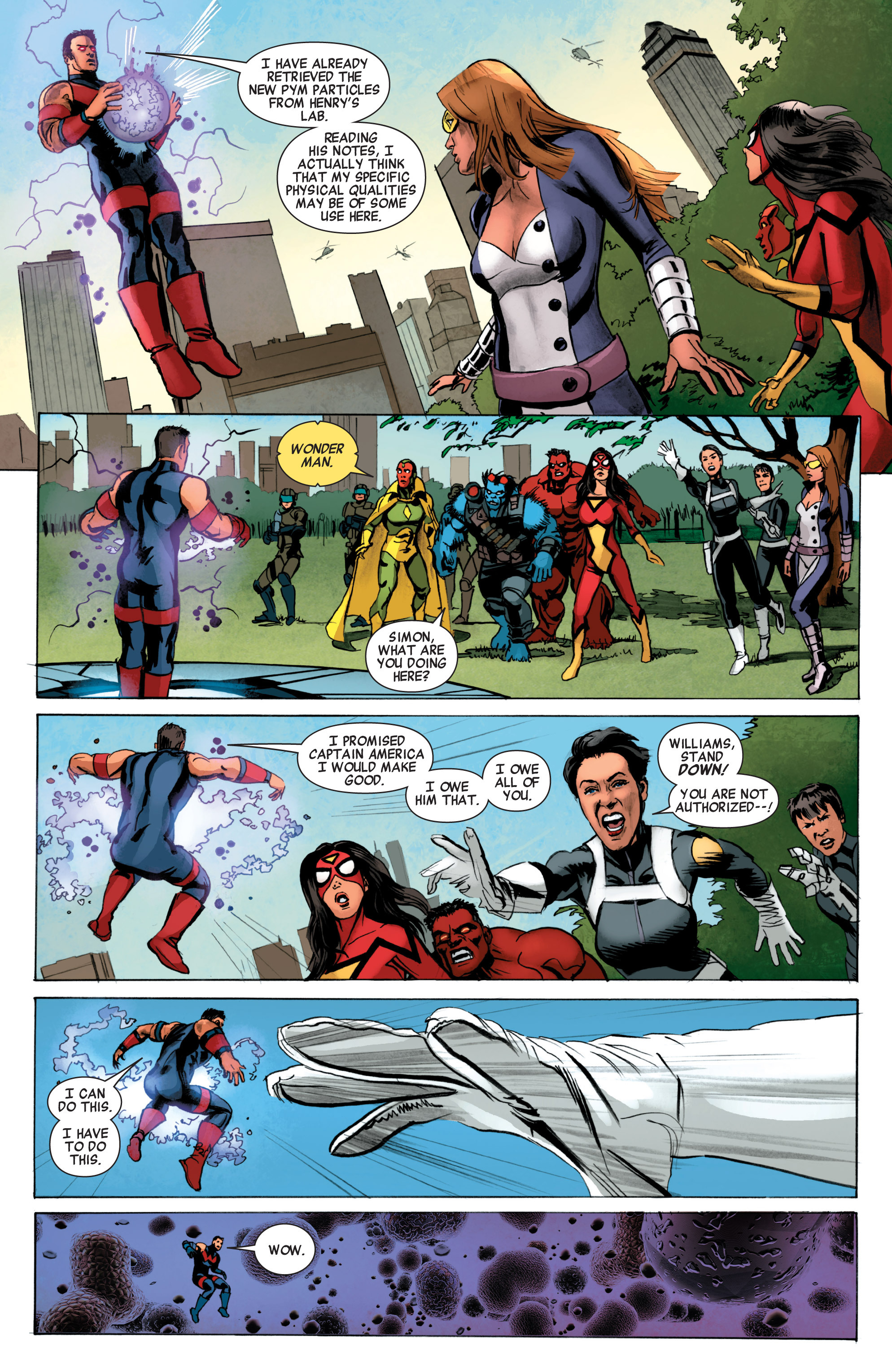 Read online Avengers (2010) comic -  Issue #34 - 5