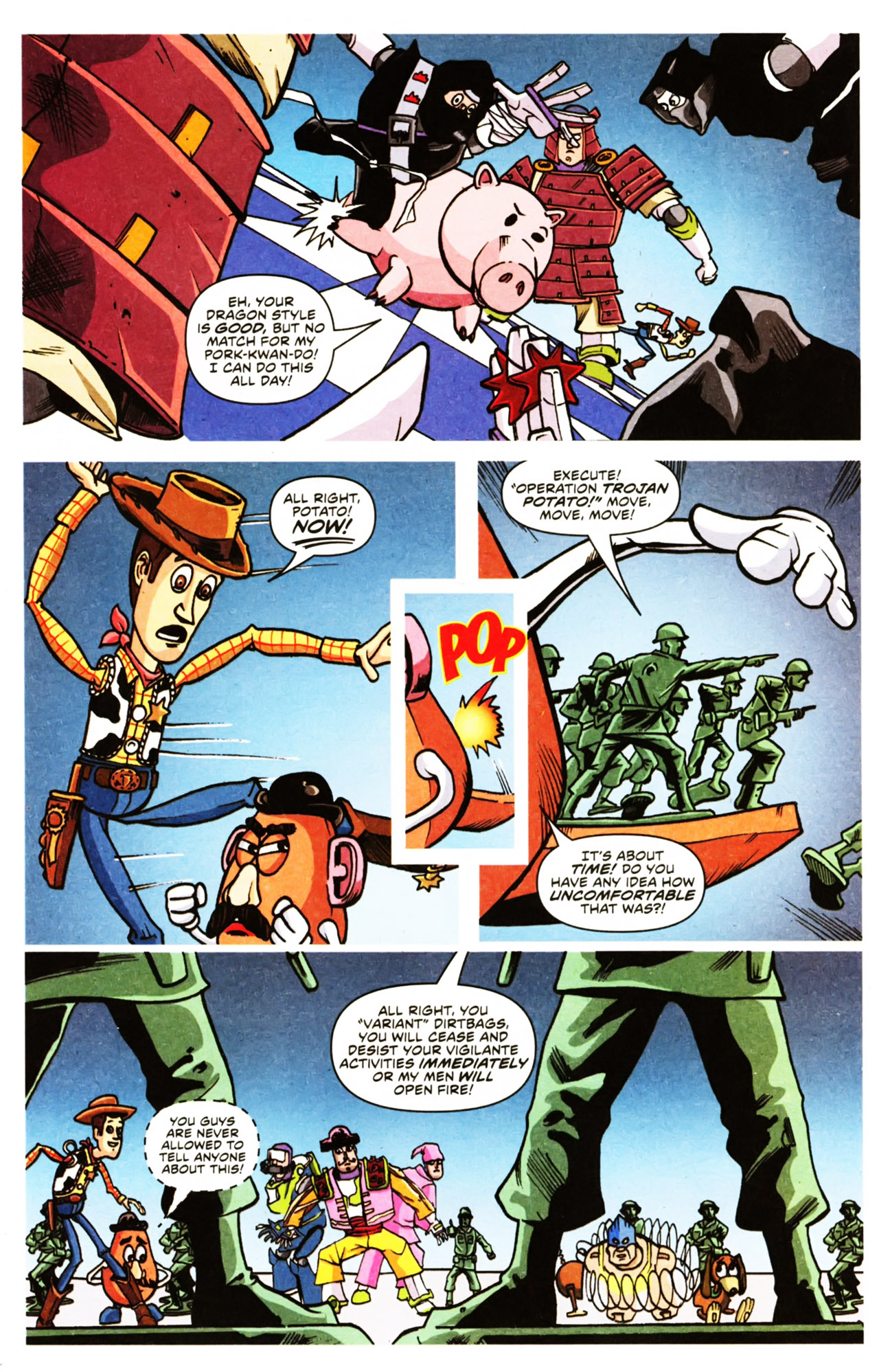 Read online Toy Story (2009) comic -  Issue #2 - 9