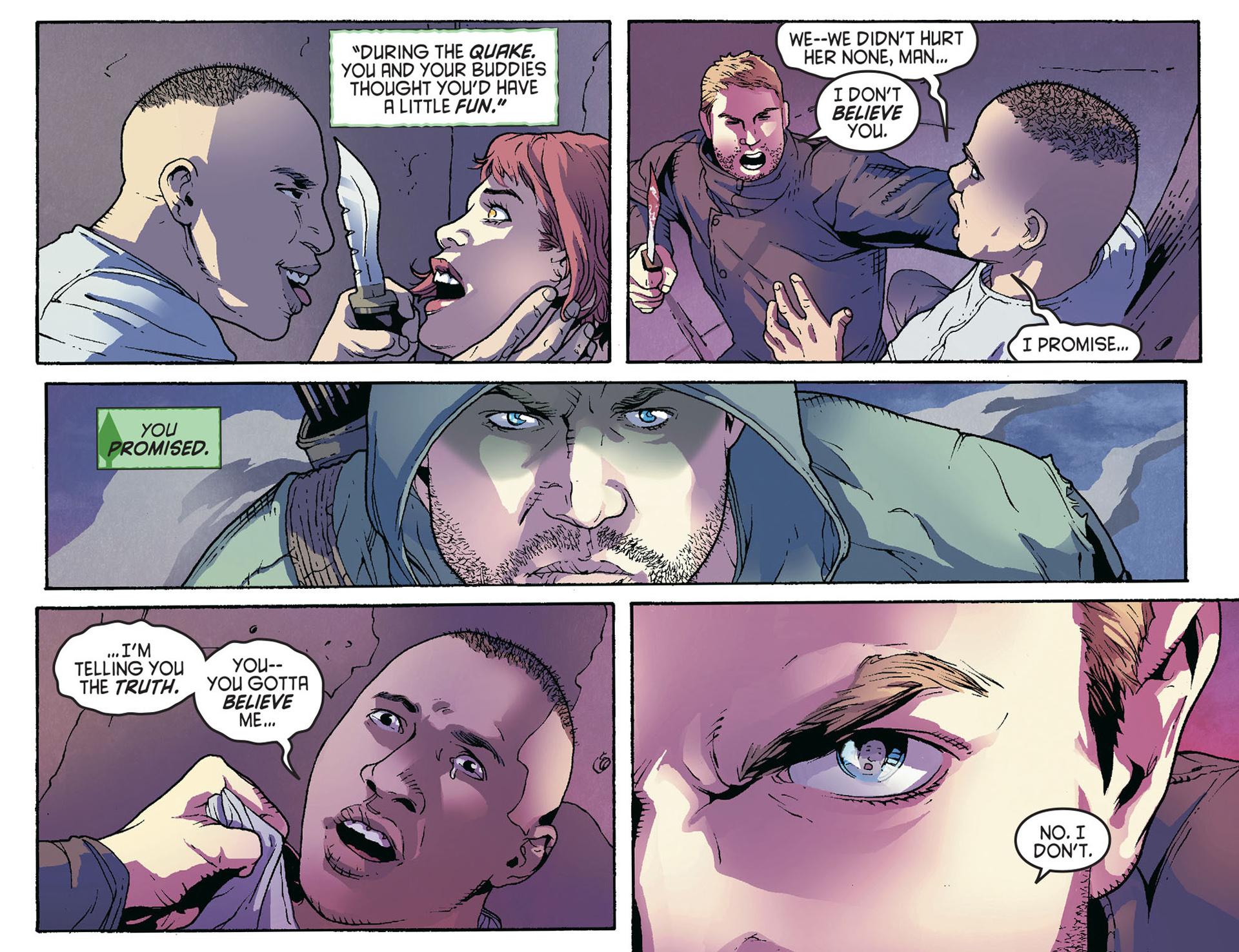 Read online Arrow [II] comic -  Issue #36 - 4