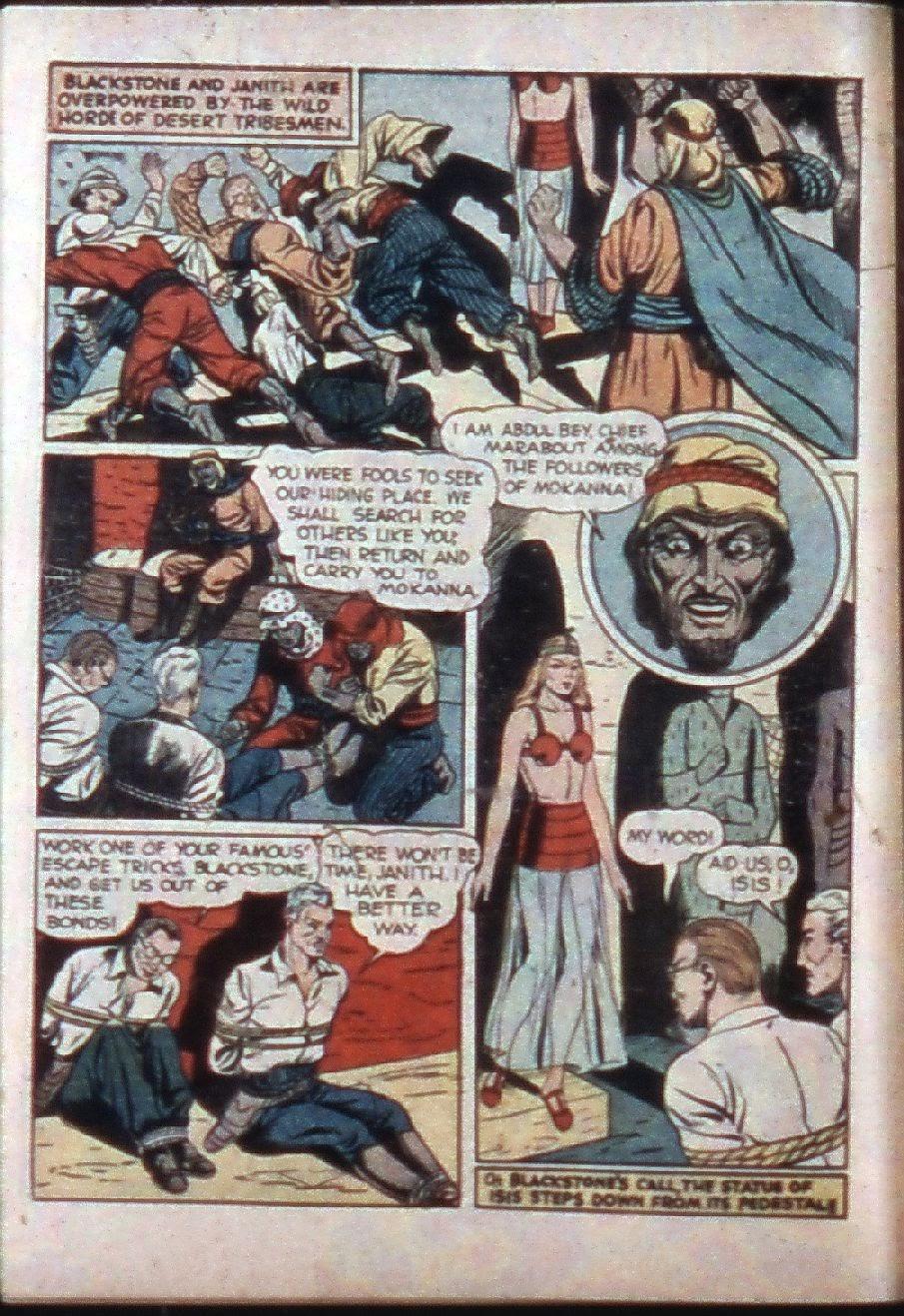 Read online Super-Magician Comics comic -  Issue #3 - 8