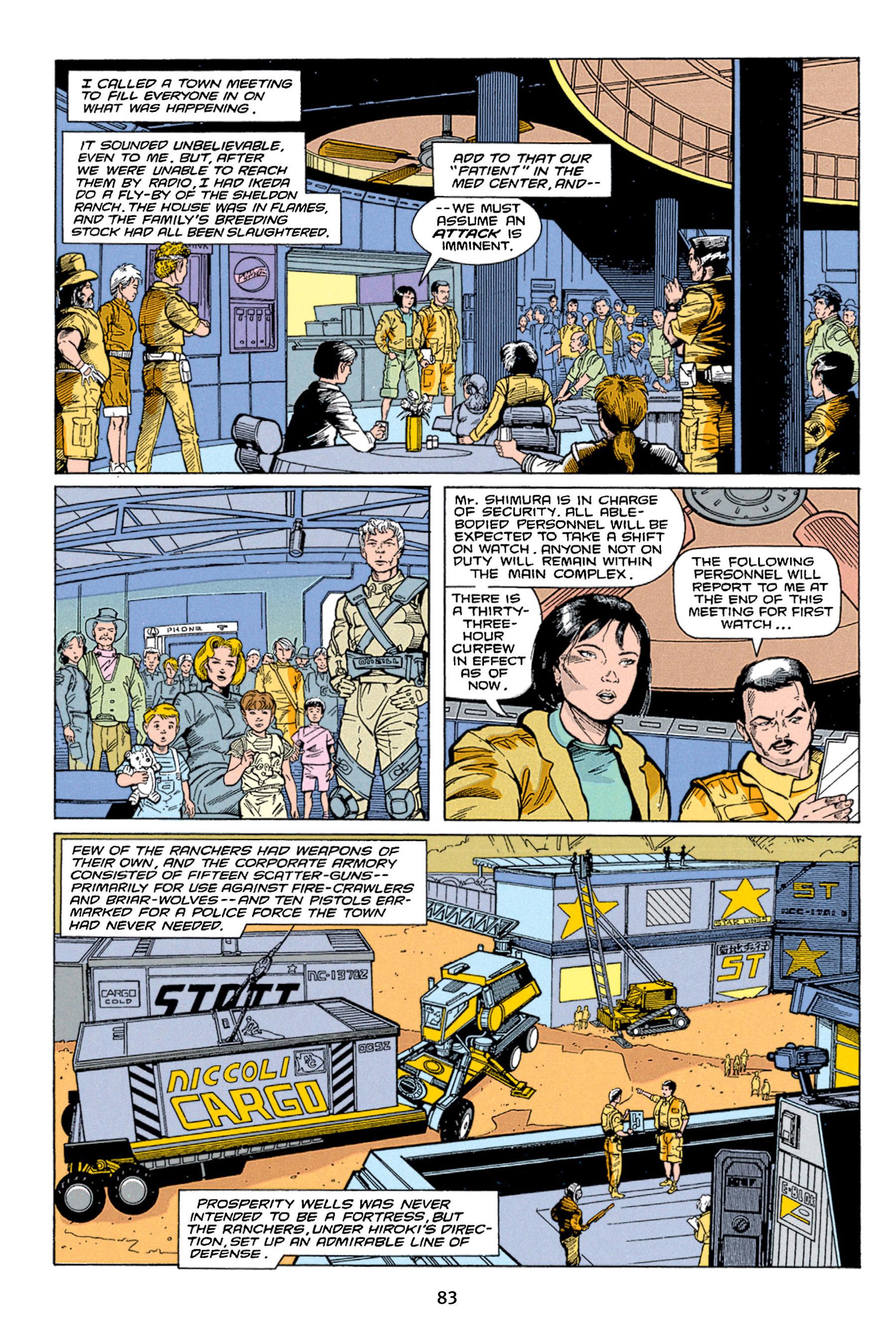 Read online Aliens vs. Predator Omnibus comic -  Issue # _TPB 1 Part 1 - 83