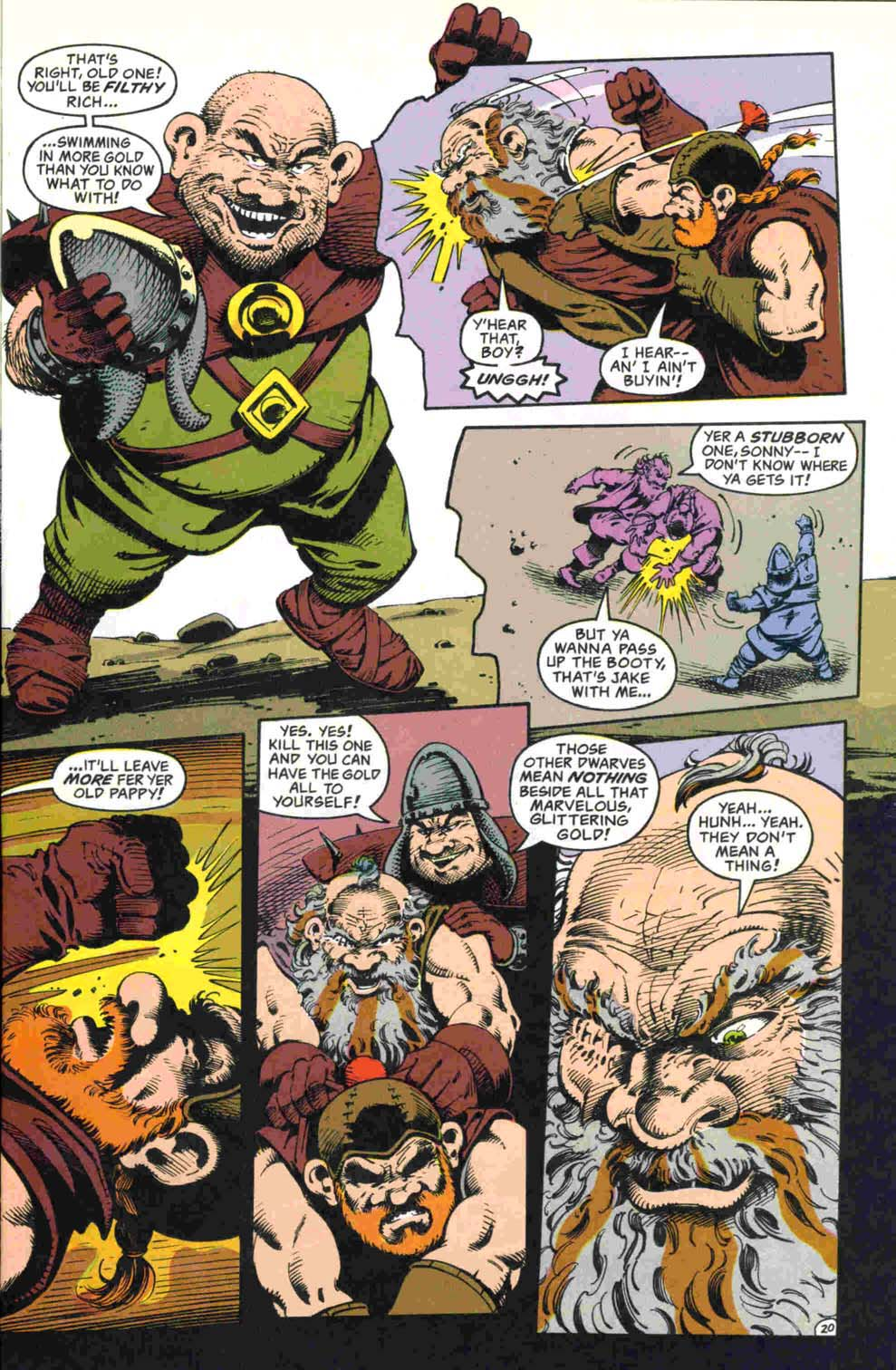 Read online Advanced Dungeons & Dragons comic -  Issue #32 - 21