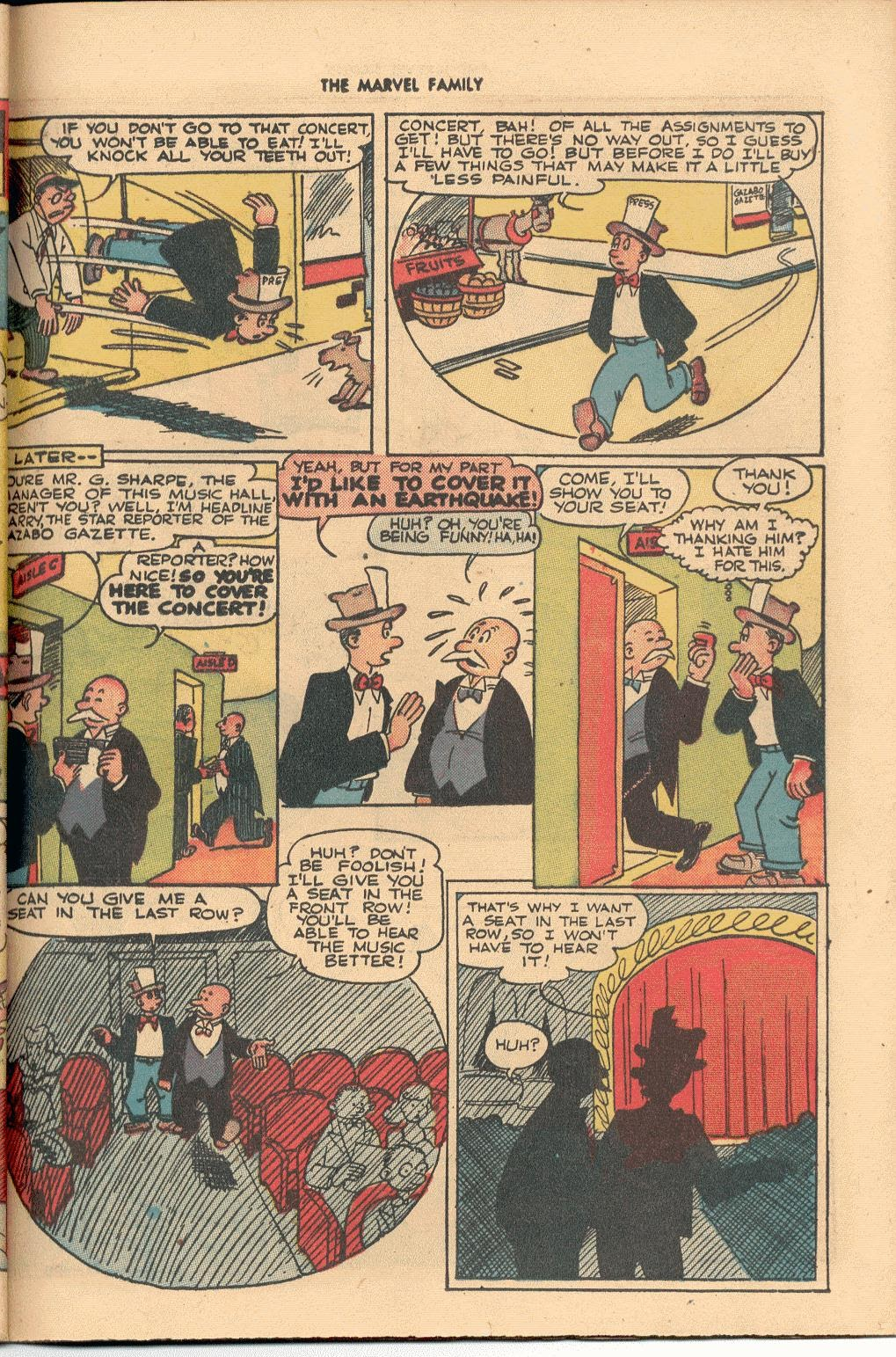 The Marvel Family issue 38 - Page 37