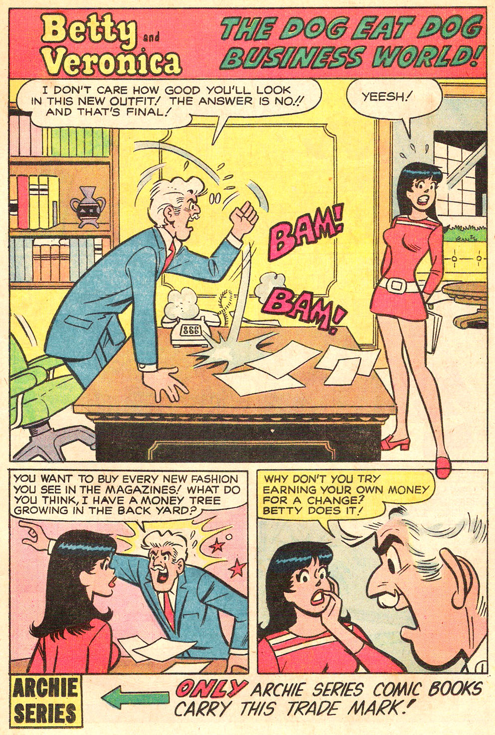 Read online Archie's Girls Betty and Veronica comic -  Issue #195 - 13