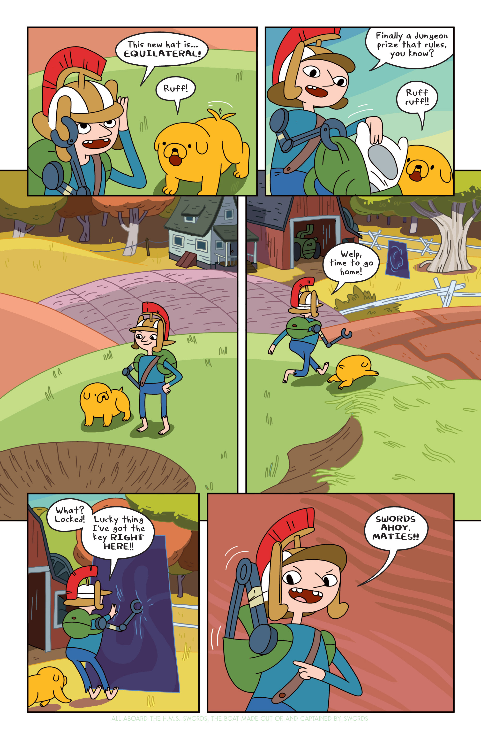Read online Adventure Time comic -  Issue #19 - 6
