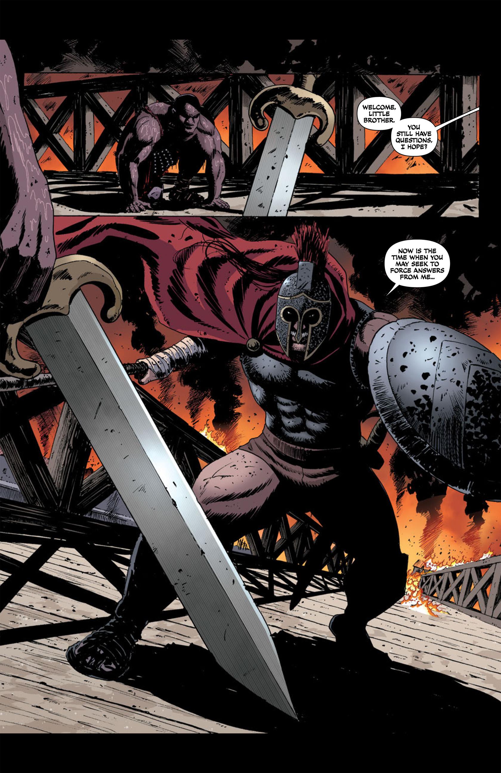 Read online Aquila comic -  Issue #2 - 12