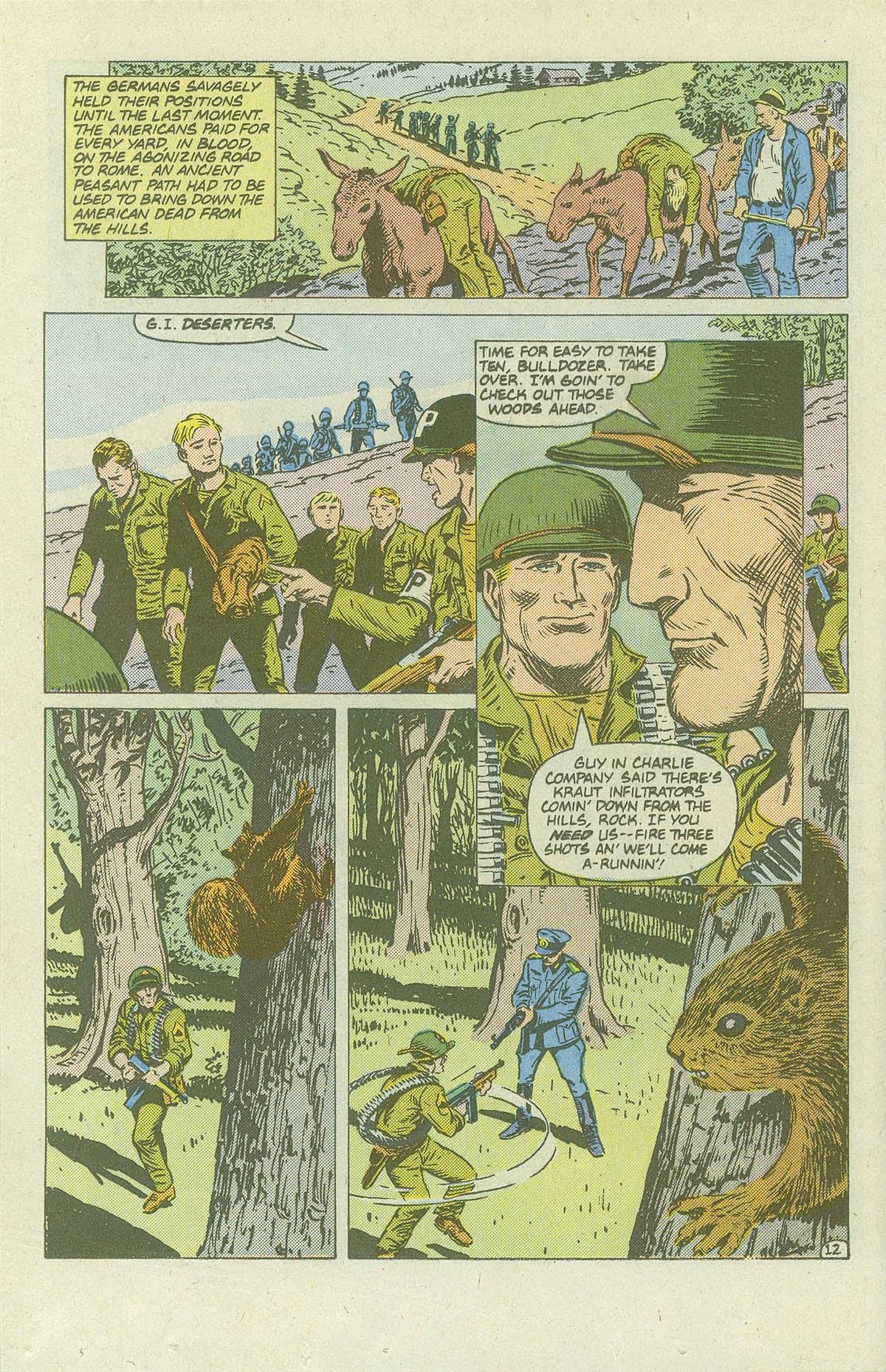 Read online Sgt. Rock comic -  Issue #420 - 17