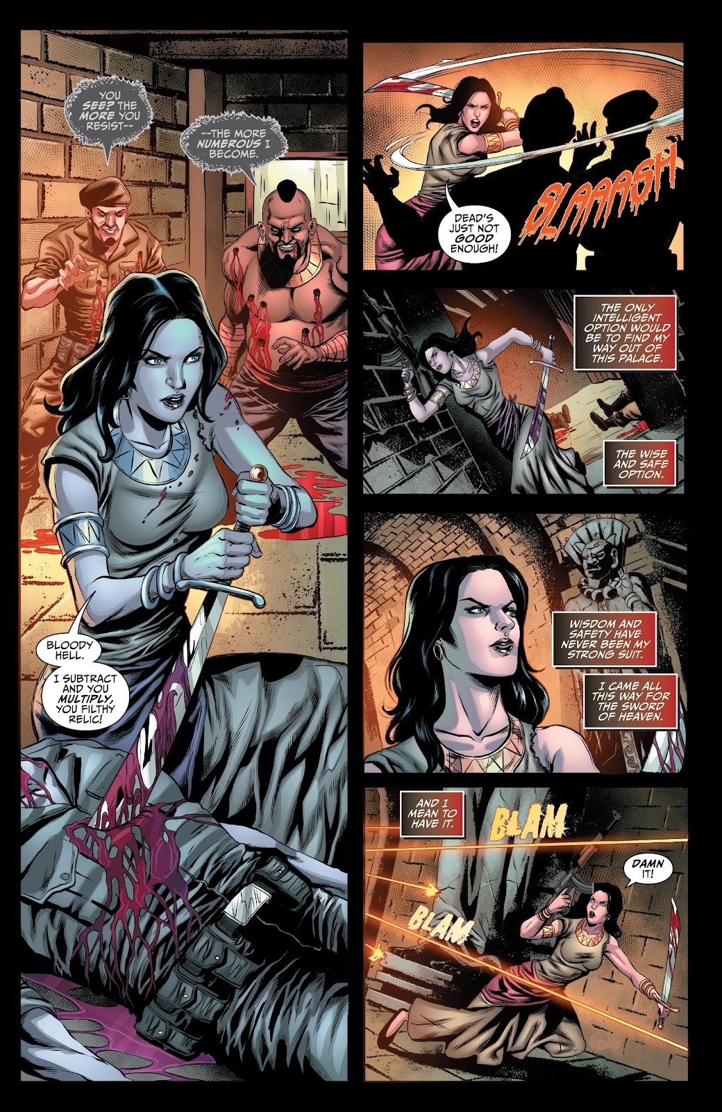 Read online Van Helsing: Sword of Heaven comic -  Issue #6 - 8