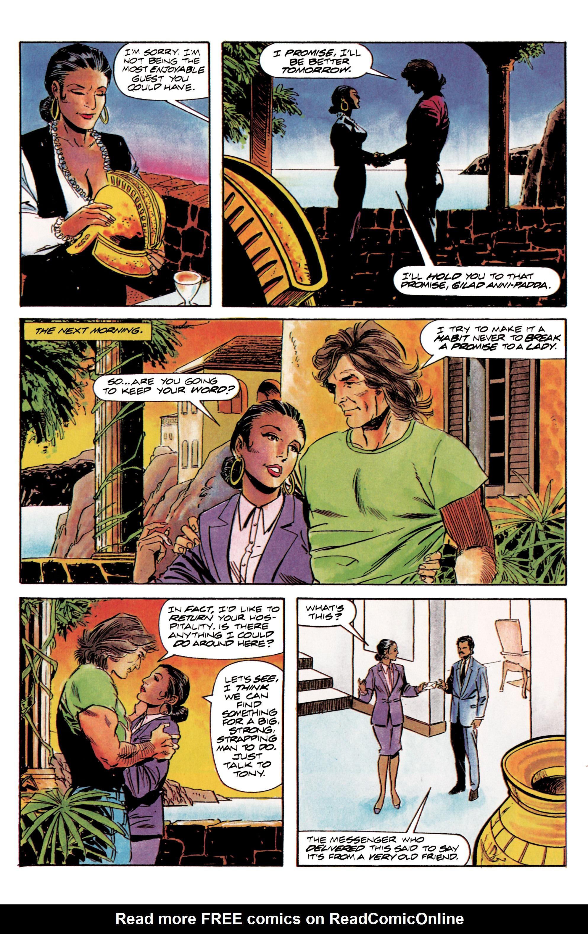 Read online Eternal Warrior (1992) comic -  Issue #3 - 14