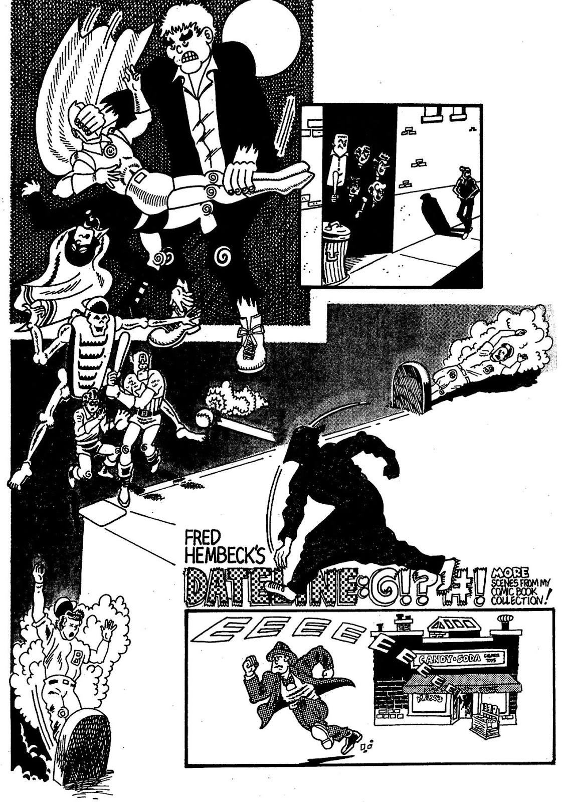 Read online The Nearly Complete Essential Hembeck Archives Omnibus comic -  Issue # TPB (Part 4) - 50